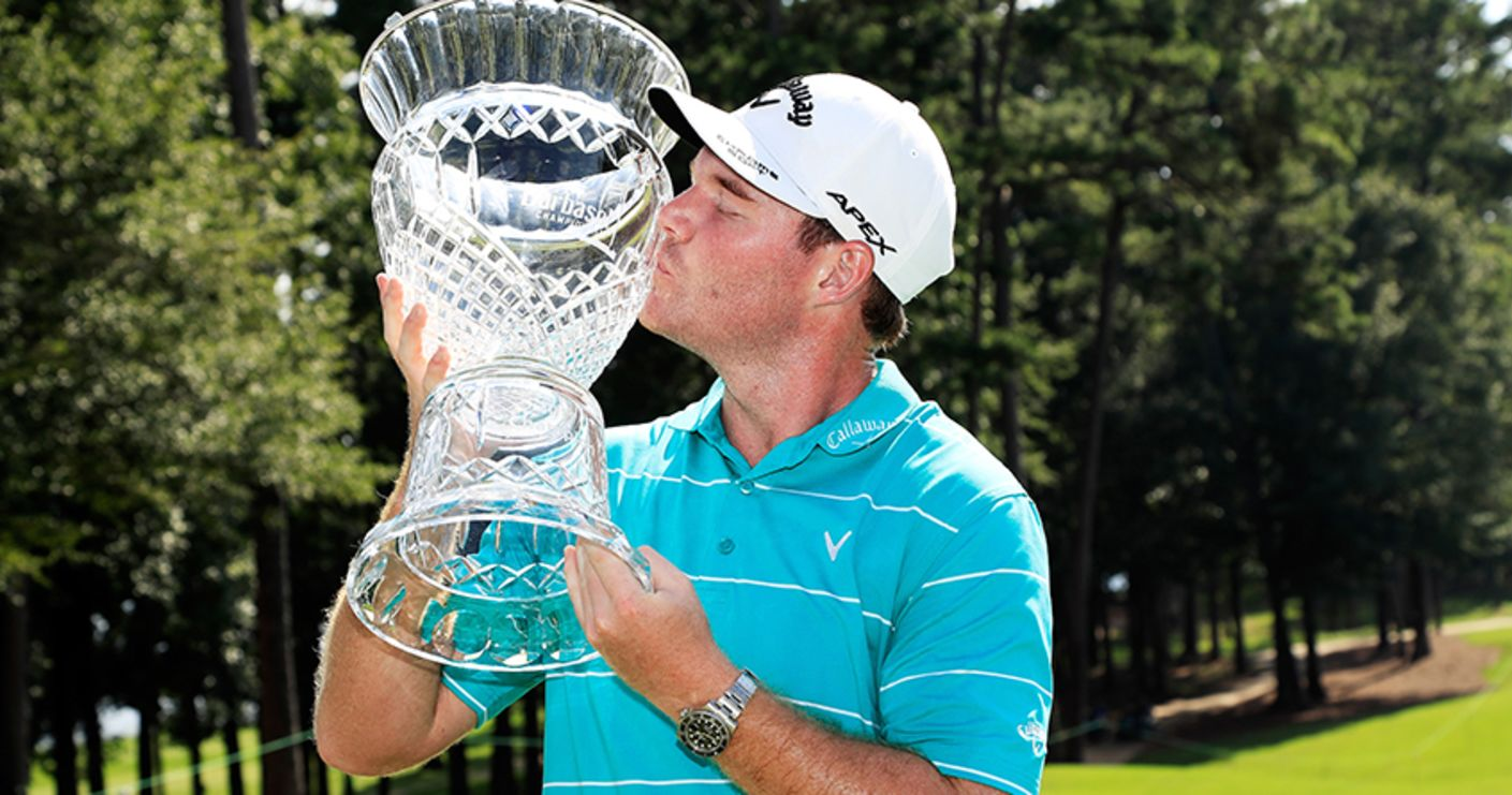 In the final round of the 2017 Barbasol Championship, Grayson Murray holds off the field posting a 3-under 68 to capture his 1st PGA TOUR title.