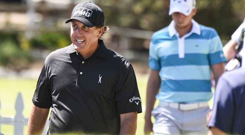 Despite going 3-0 during the first three days, Phil Mickelson admits to feeling some nerves heading into the weekend. (Keyur Khamar/PGA TOUR)