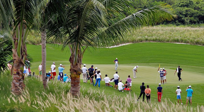 The Web.com Tour's Corales Puntacana Resort & Club Championship in the Dominican Republic will transition to the PGA TOUR beginning next season following a four-year agreement. (Jamie Squire/Getty Images)