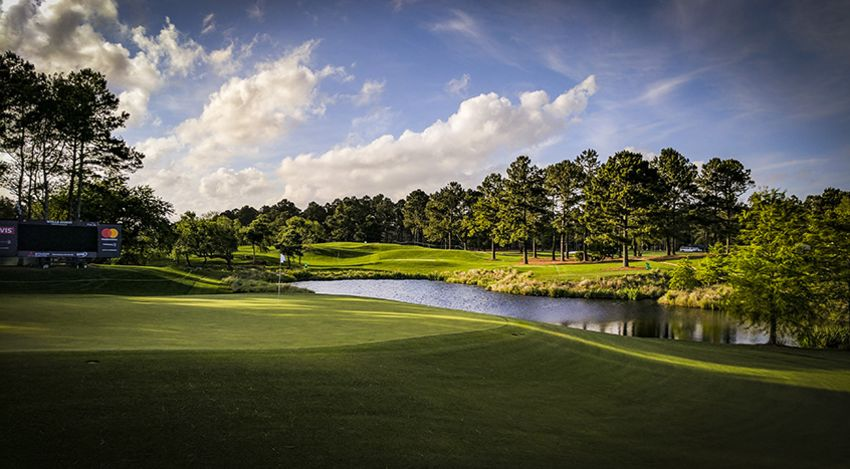 The fifth hole at Eagle Point Golf Club in Wilmington, N.C. (Scott Kunath/PGA TOUR)