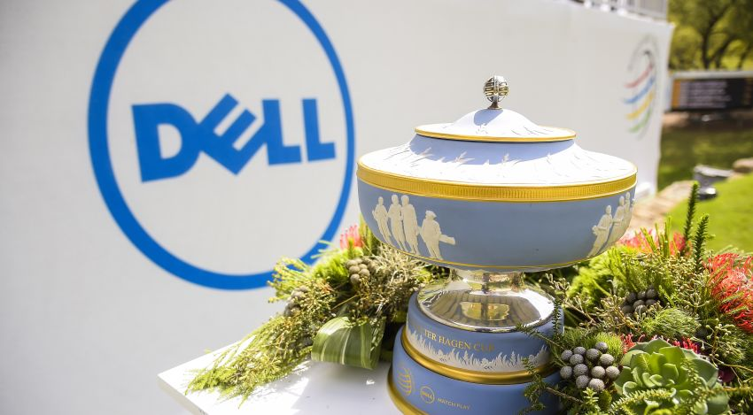 The WGC-Dell Match Play trophy, aka the Walter Hagen Cup
