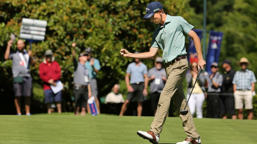 Lee McCoy captured the first event of the year (Chuck Russell/PGA TOUR)