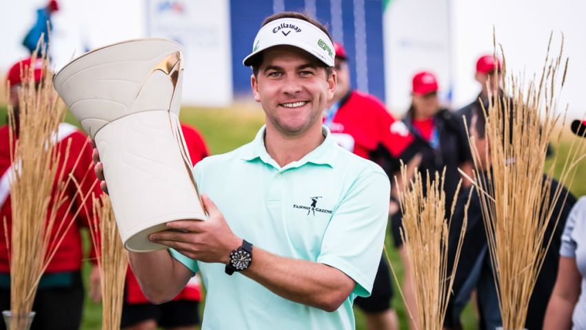 Chase Wright fired rounds of 65-65-72-67 to capture his first Mackenzie Tour title (PGA TOUR)