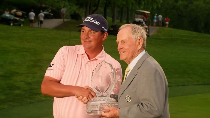 Jason Dufner seals win in dramatic fashion at the Memorial