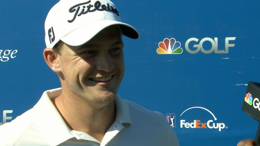 Bud Cauley interview after Round 1 of RBC Heritage