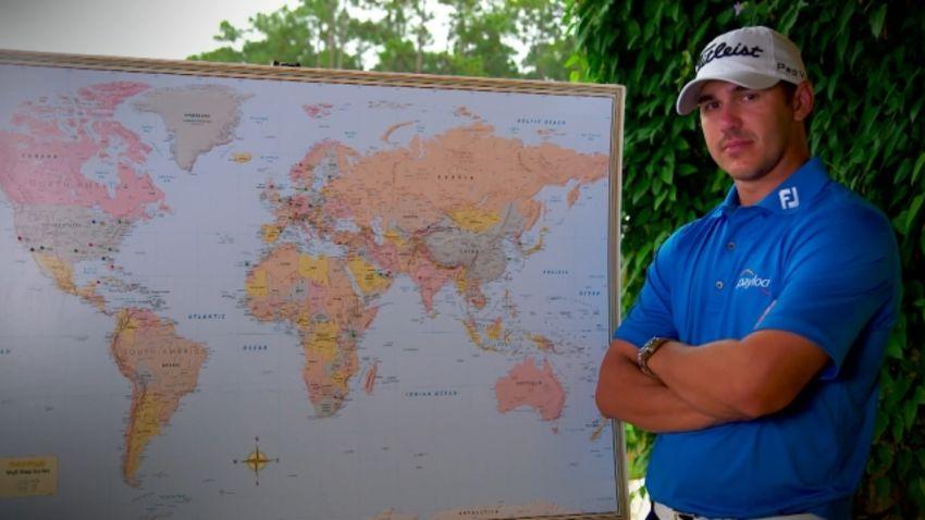 Brooks Koepka's journey around the world
