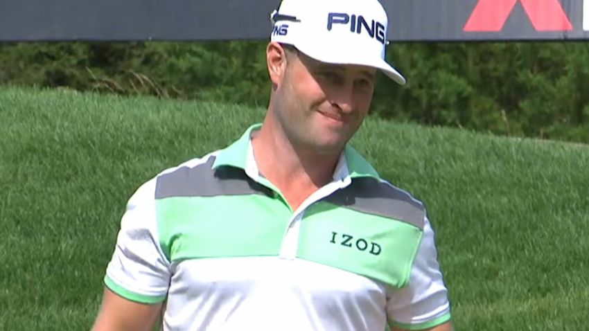 David Lingmerth's perfect putt from off the green at Quicken Loans