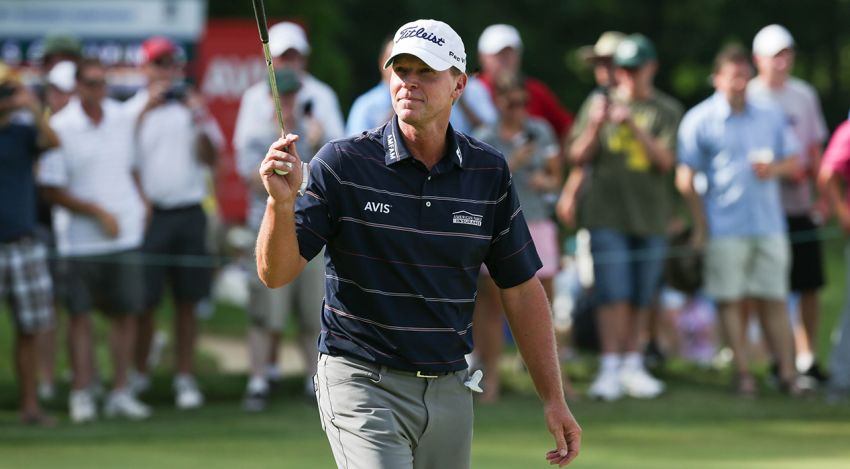 Steve Stricker in Champions Tour debut