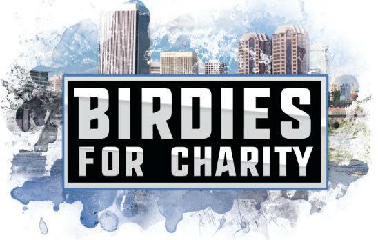 BIRDIES FOR <B> CHARITY </B>