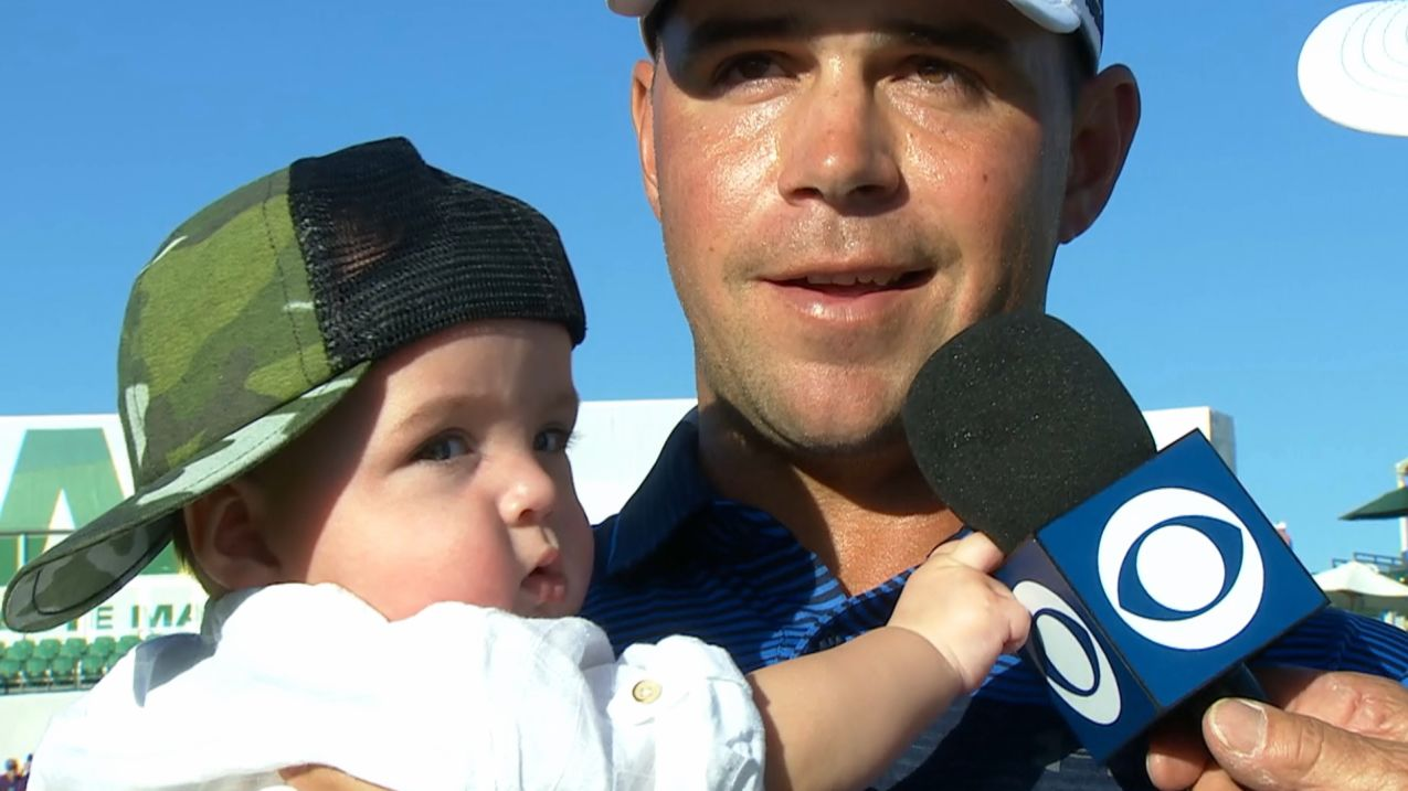 Gary Woodland interview after winning Waste Management