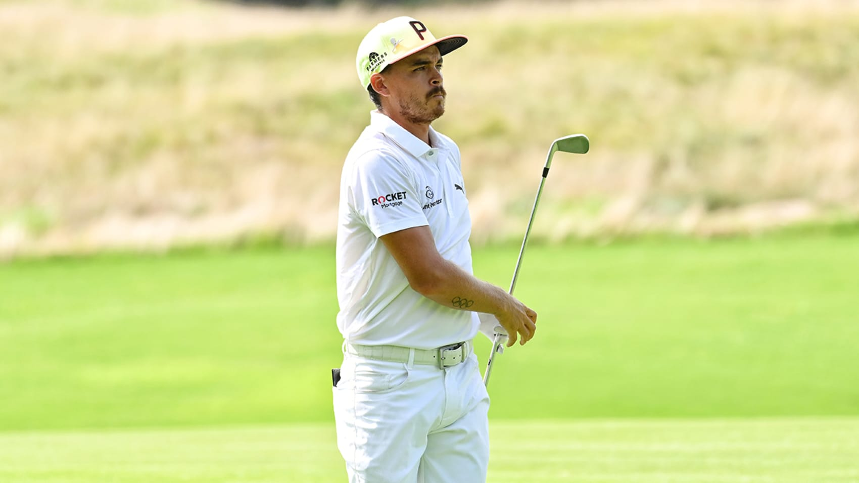 Rickie Fowler's 30-foot birdie chip shot for the Shot of the Day