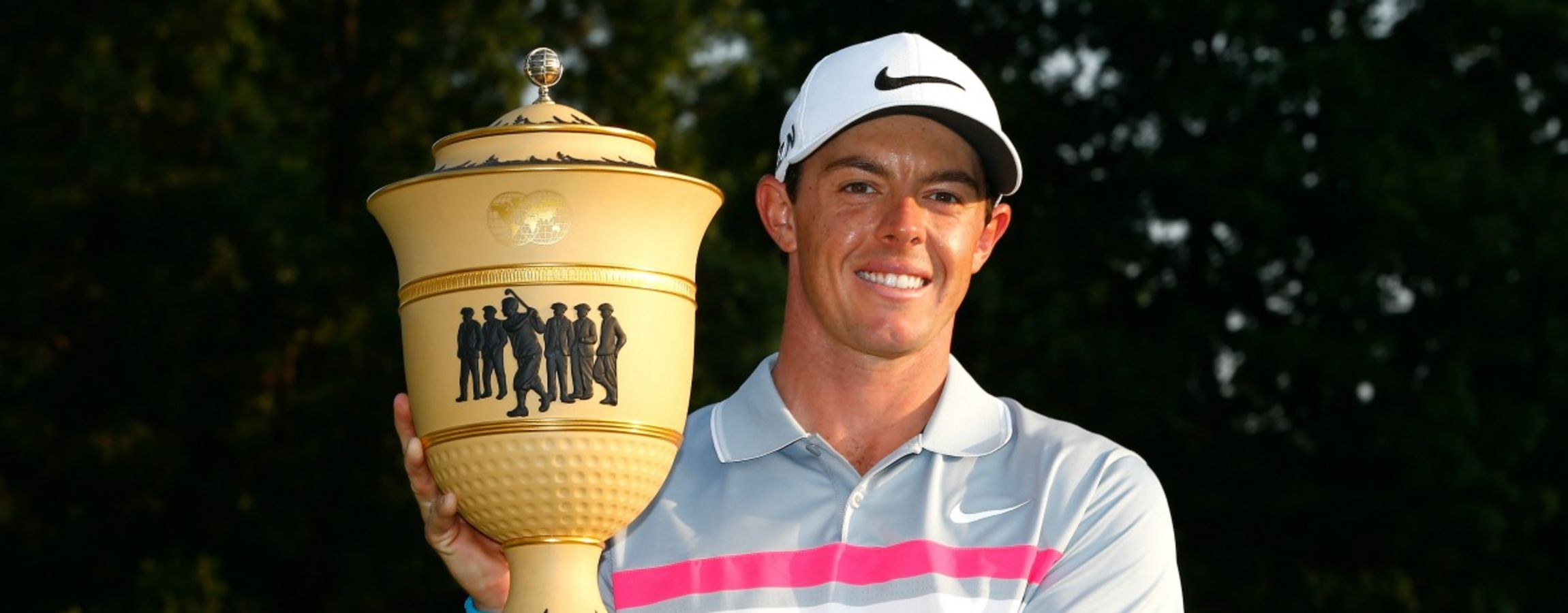 Akron, OH - Rory McIlroy of Northern Ireland is set to defend his 2014 title