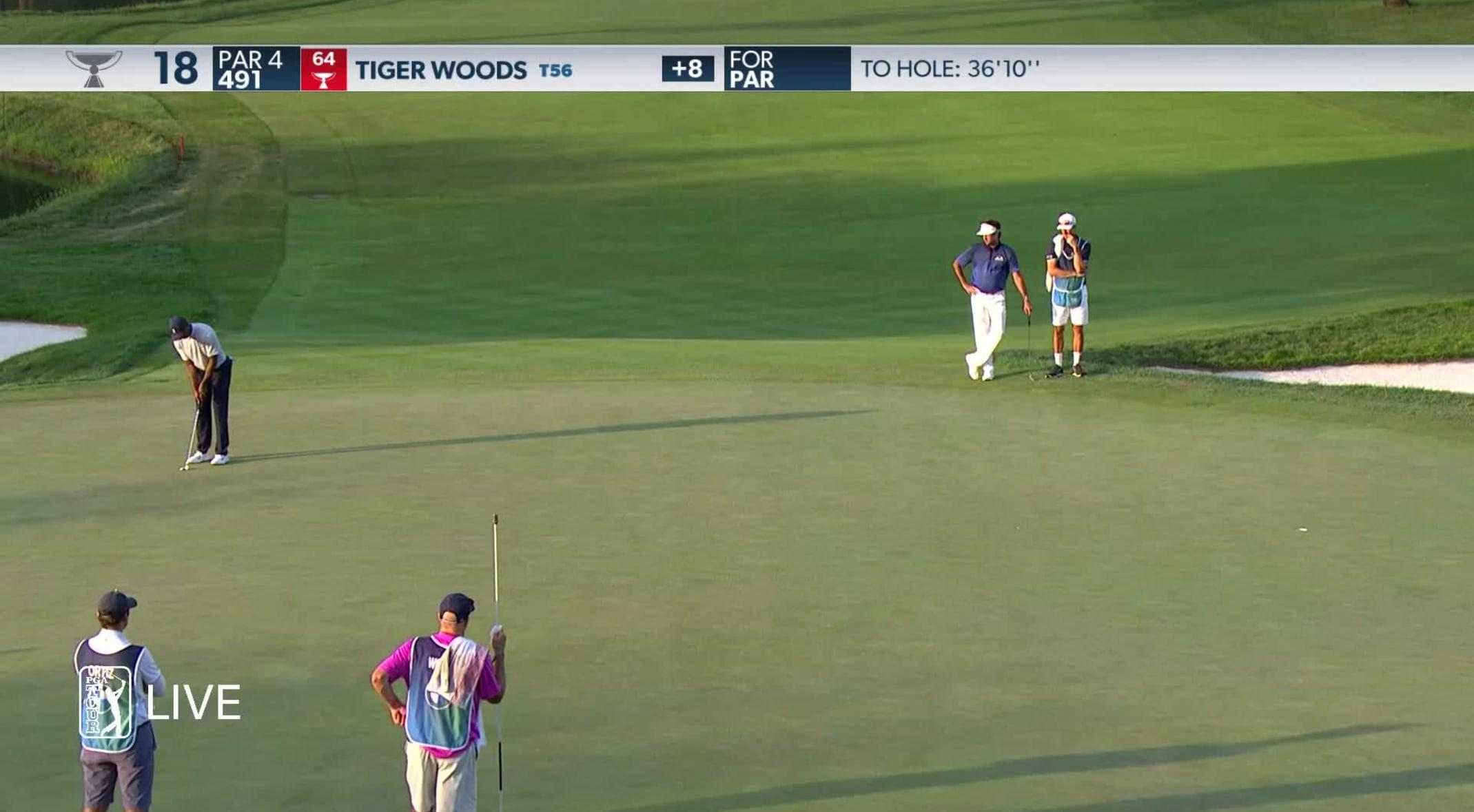 Tiger Woods Round 2 Recap At 2020 Bmw Championship Pga Tour