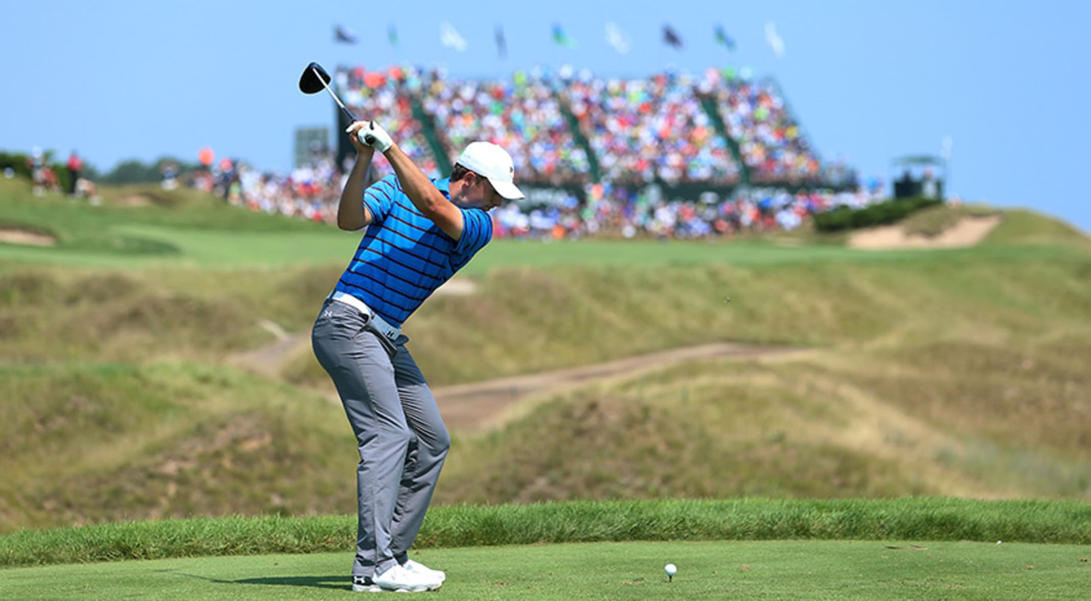 One Swing Turns Things Around For Spieth
