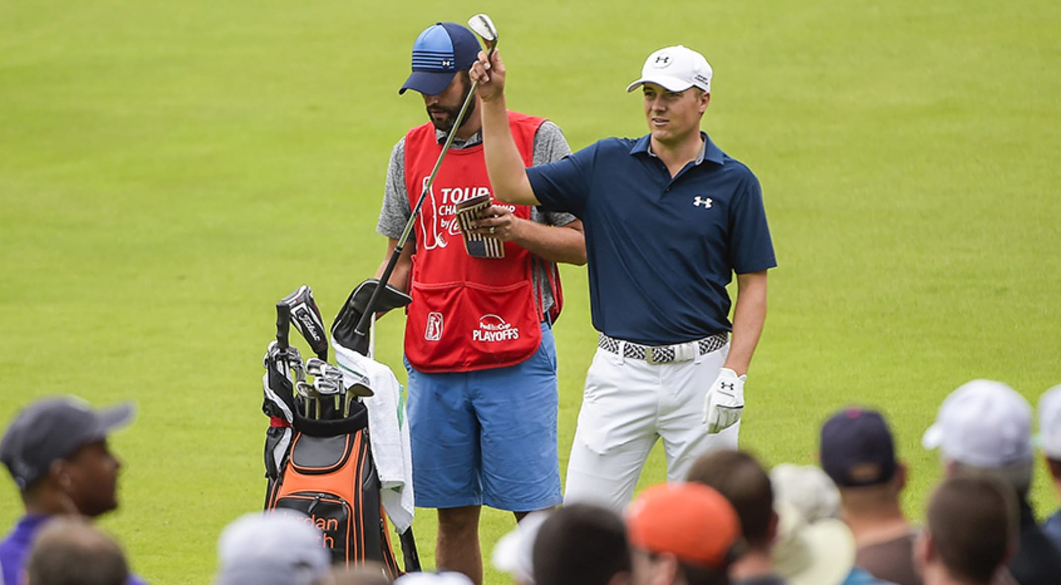f9b4a7960 Using Titleist equipment, Jordan Spieth suffered only five bogeys in 72  holes at East Lake