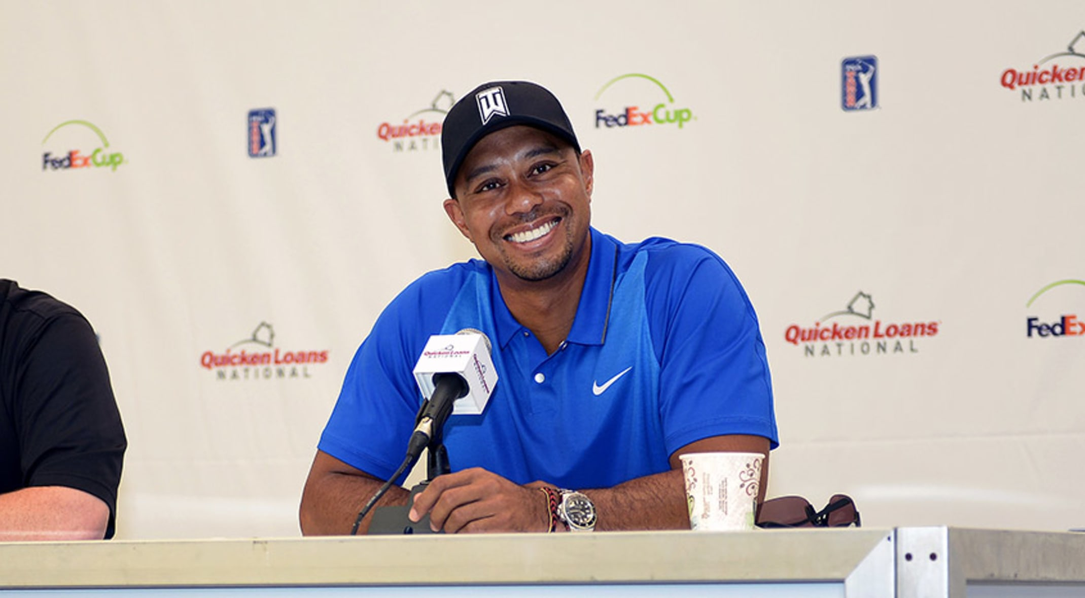 Tiger Woods answered questions and gave a status update on Wednesday  regarding his potential return to e25c664cb282