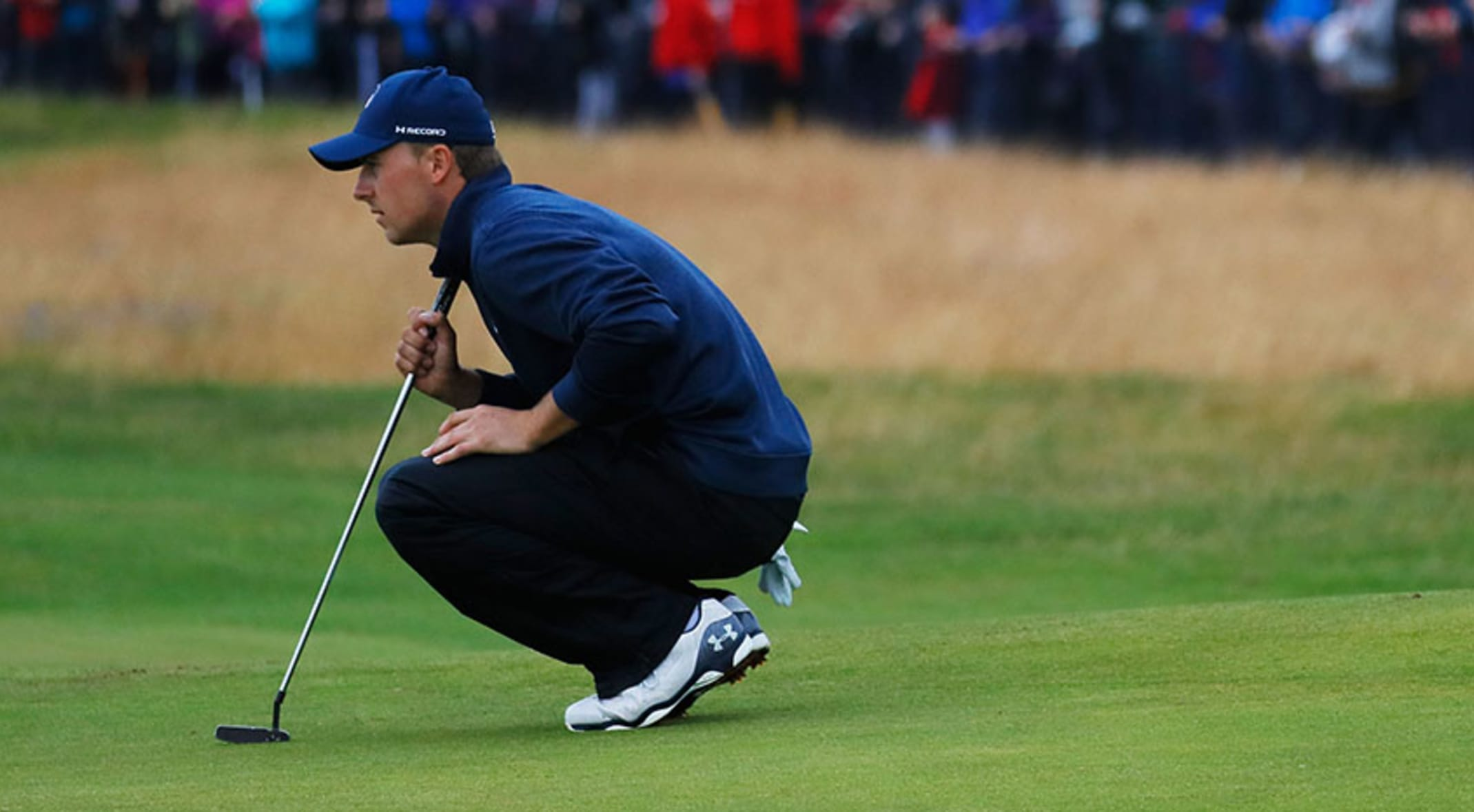 a058ed99505 During the final round at the Open Championship, Spieth logged a total of  13,541 steps