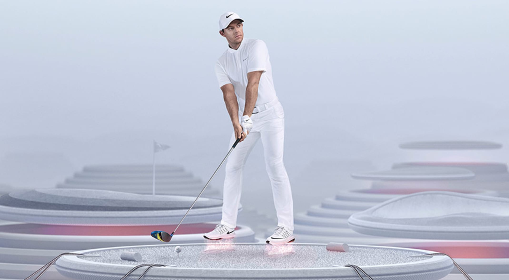 7f38a9655926 Rory McIlroy put the new Nike Lunar Control Vapor shoes to the test before  putting them