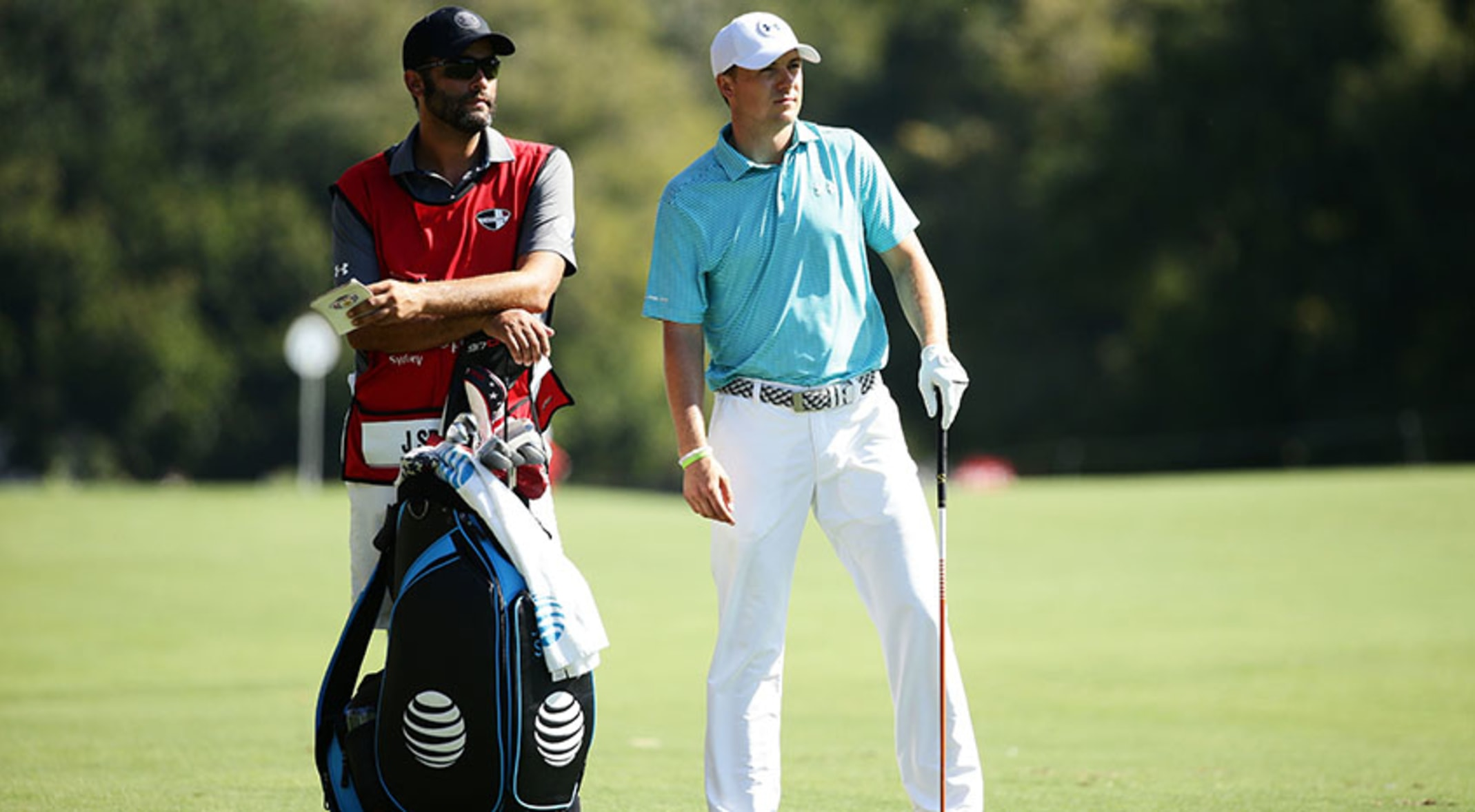 26d6de576082 Jordan Spieth became the first player to record a win with the new  Titleist s Pro V1x