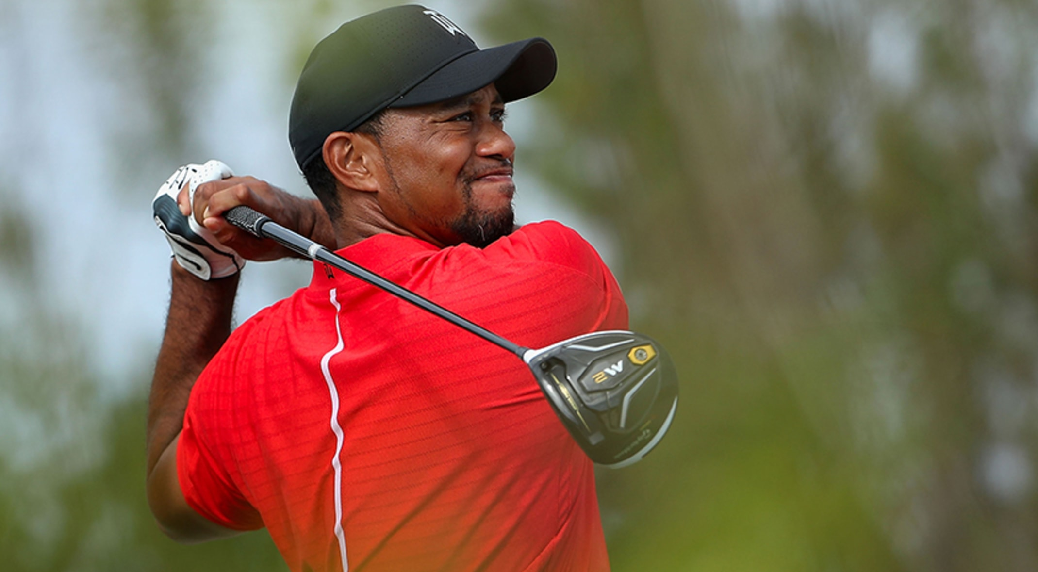 e9d2e862066a86 Tiger Woods had TaylorMade s M2 driver and M1 fairway woods in play at the Hero  World