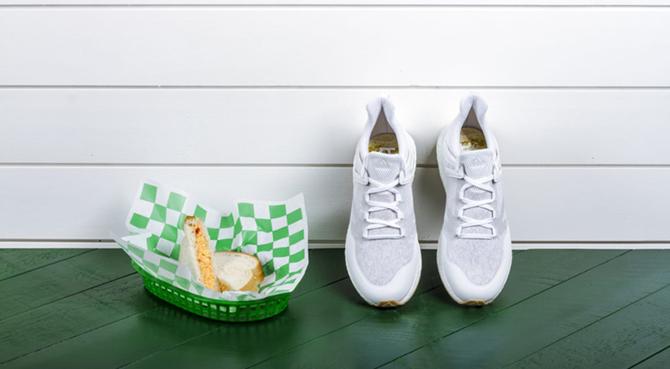 Limited edition shoe from adidas Golf is pimento cheese