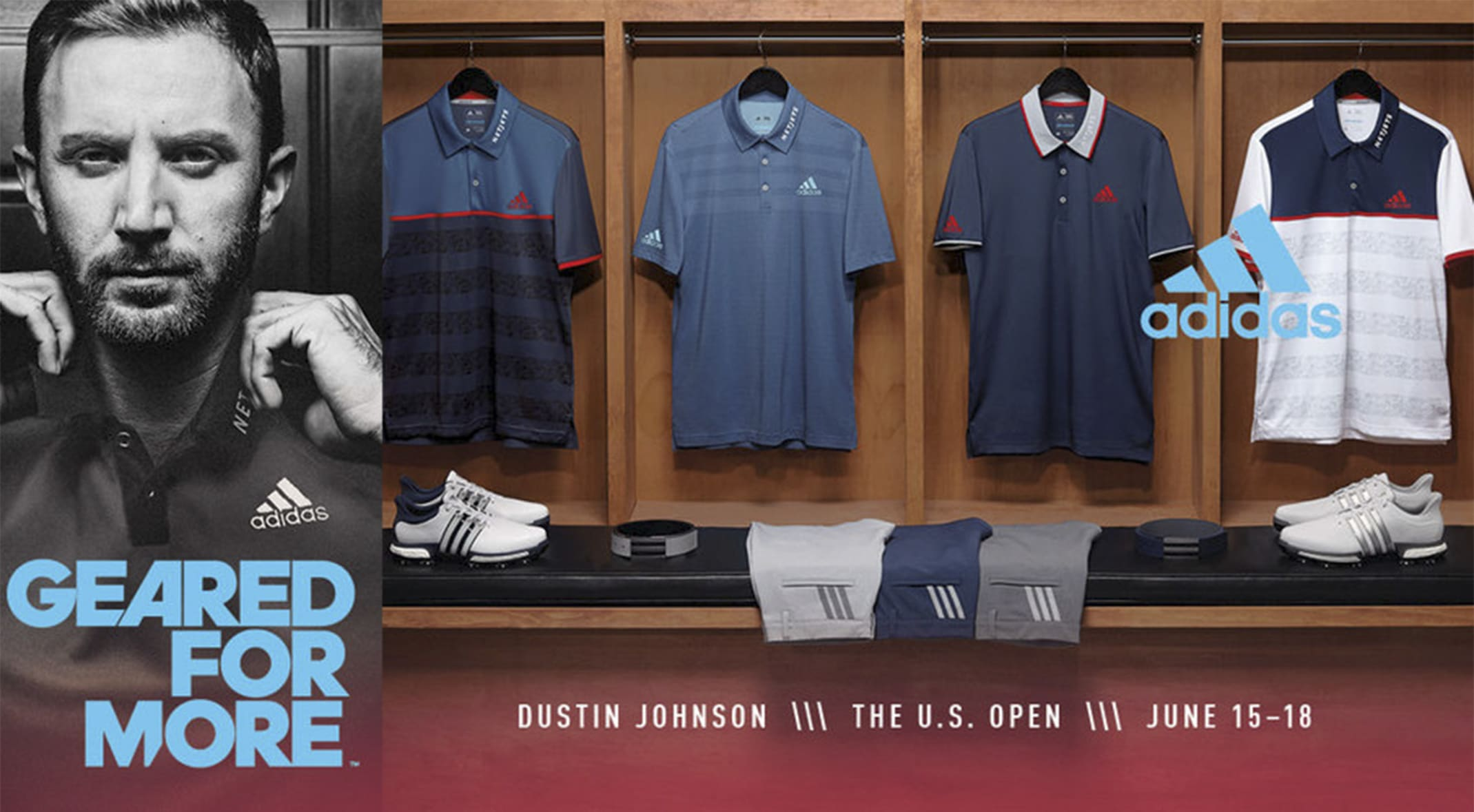 huge discount e6b76 495e4 Dustin Johnson will be kitted in a patriotic ensemble as he looks to defend  his U.S.