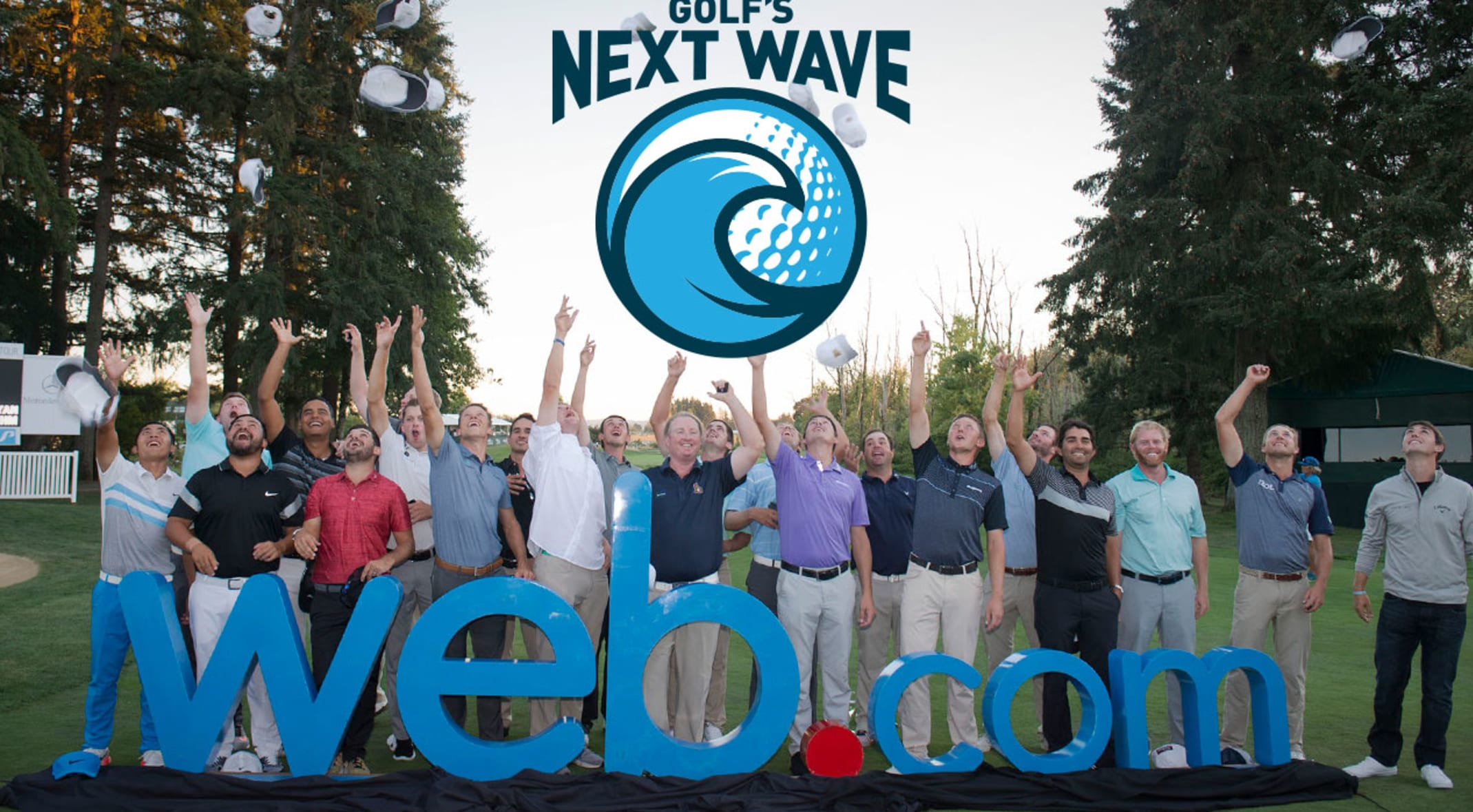 golf's next wave goes behind-the-scenes on web tour