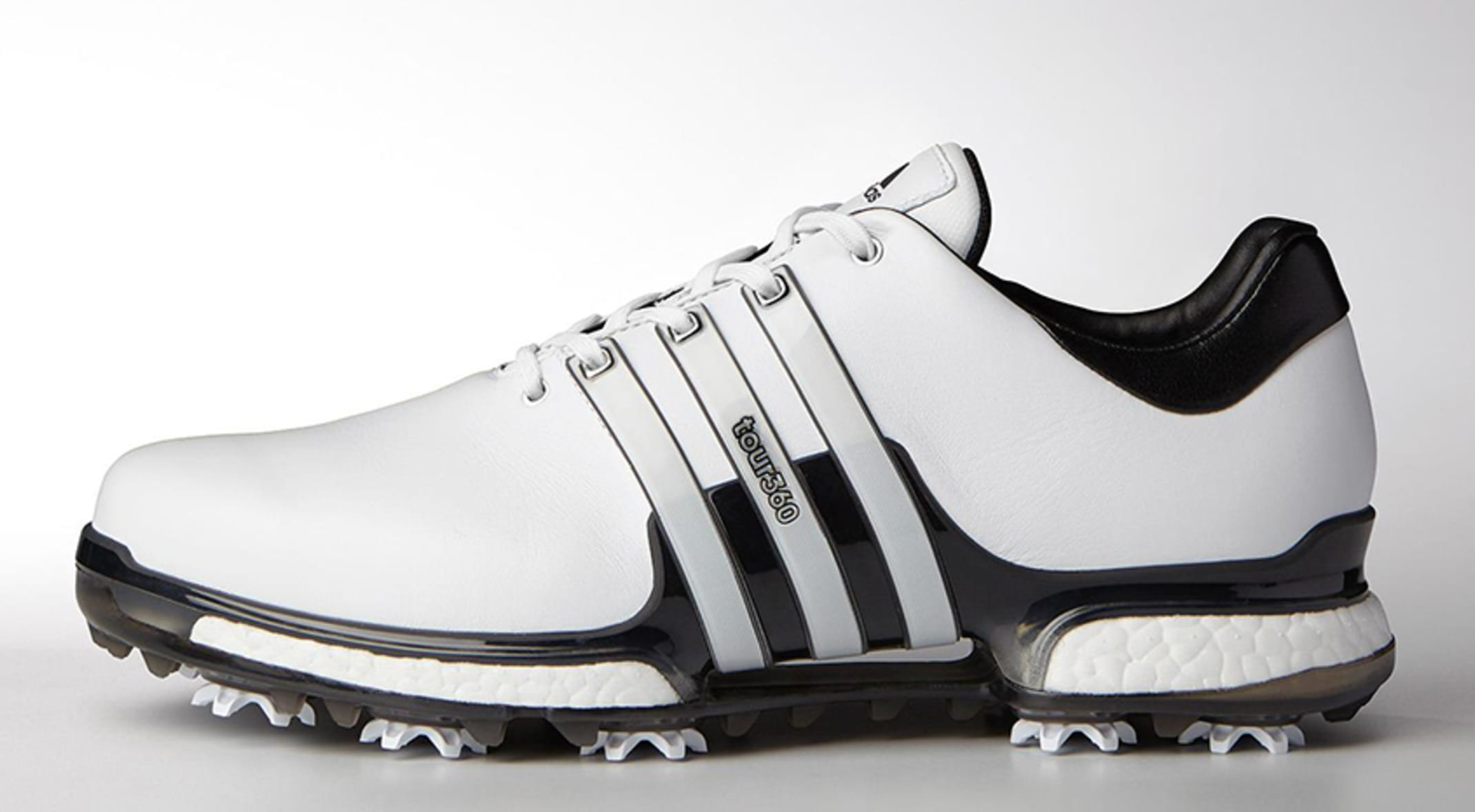 024f84eb Dustin Johnson wore the adidas TOUR360 shoes during his FedExCup Playoff  victory at THE NORTHERN TRUST