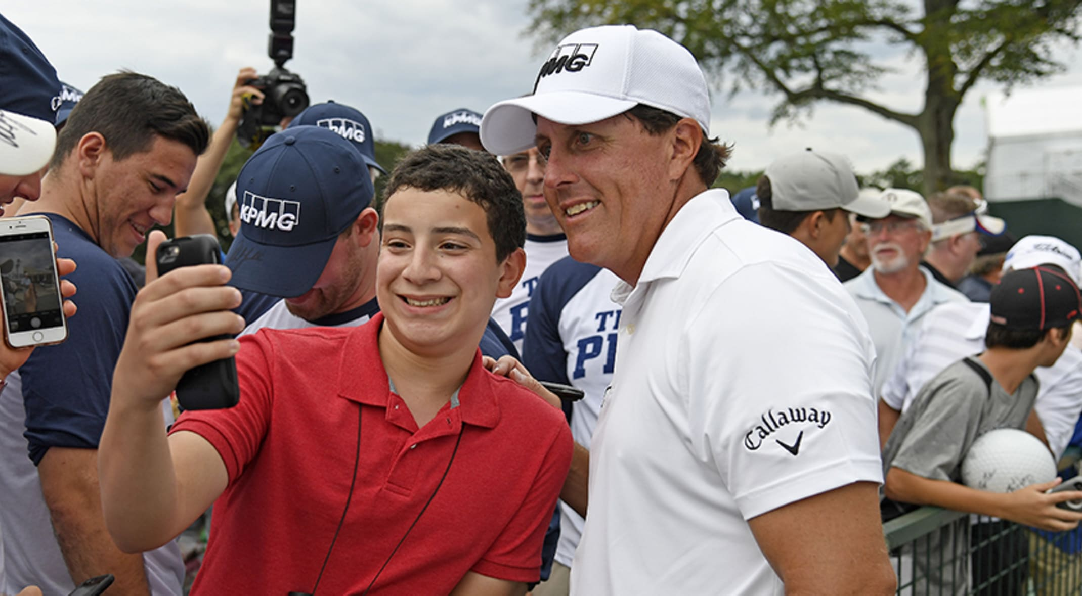 7d956b29423 The chance to meet your favorite PGA TOUR player  Priceless. (Photo by Chris