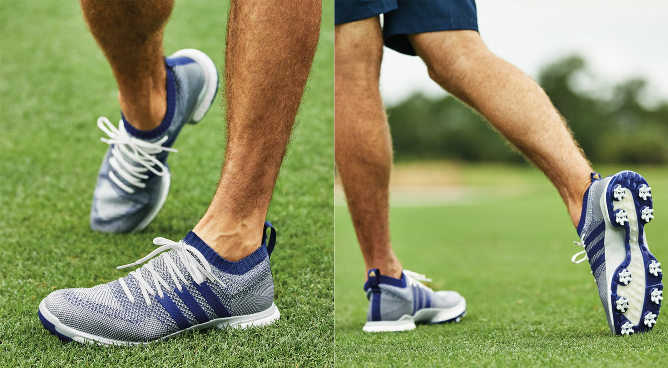 a86c011fe32c adidas Golf s new TOUR360 Knit offers increased flexibility while  maintaining support throughout shoe. (Photos
