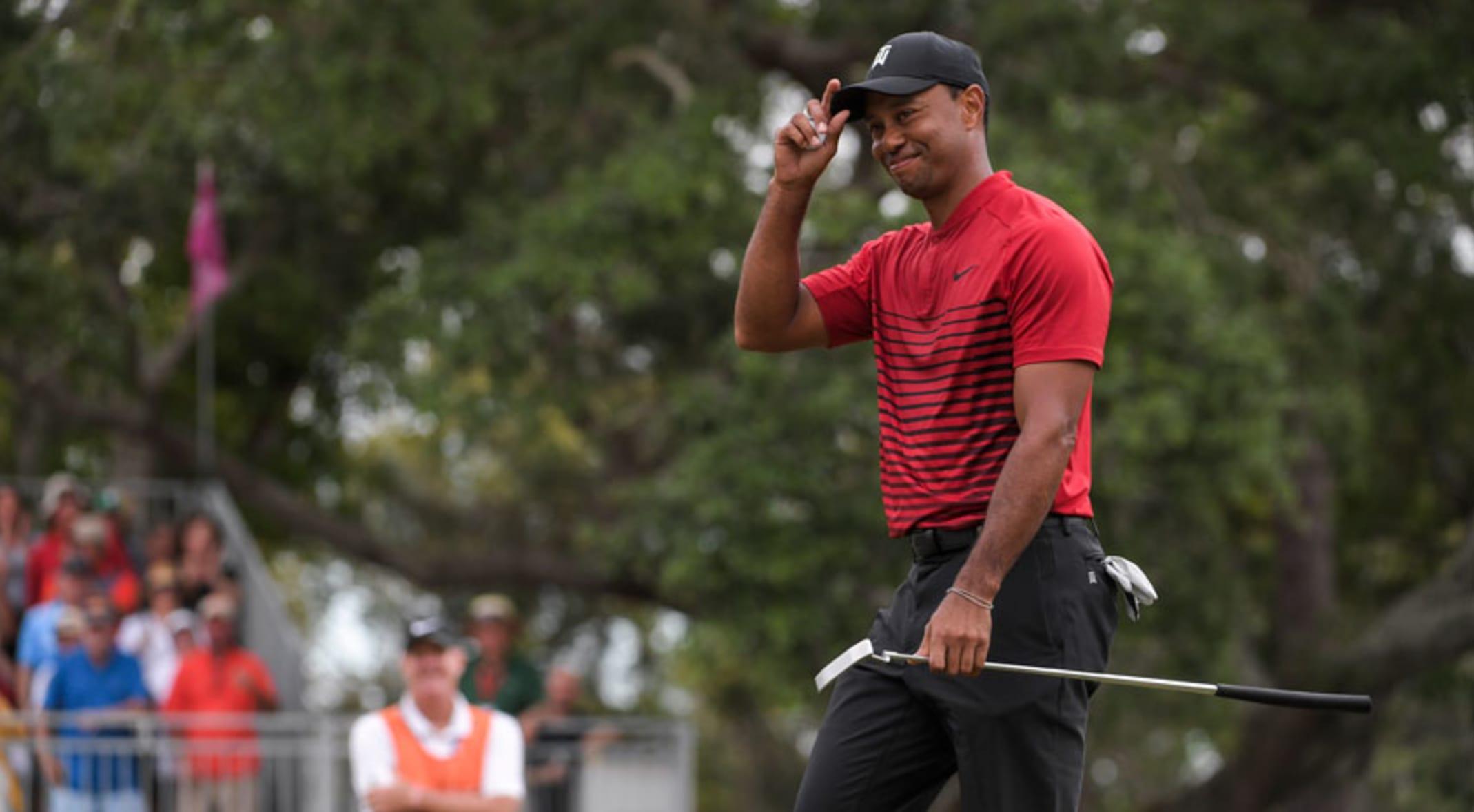 463430af124bc Tiger Woods  impressive comeback continues at Valspar Championship