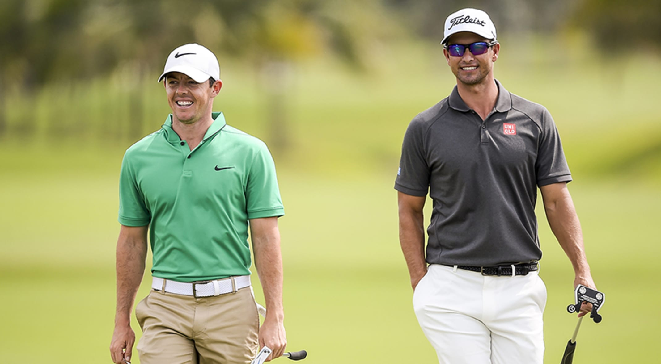 da9aa4e2c24f4e Rory McIlroy will play with former Masters champion Adam Scott for the first  two rounds at