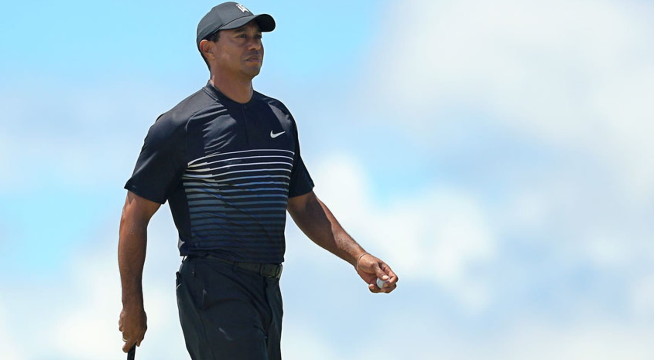 e62a94f9 Tiger Woods went 78-72 to finish the second round outside of the cut line