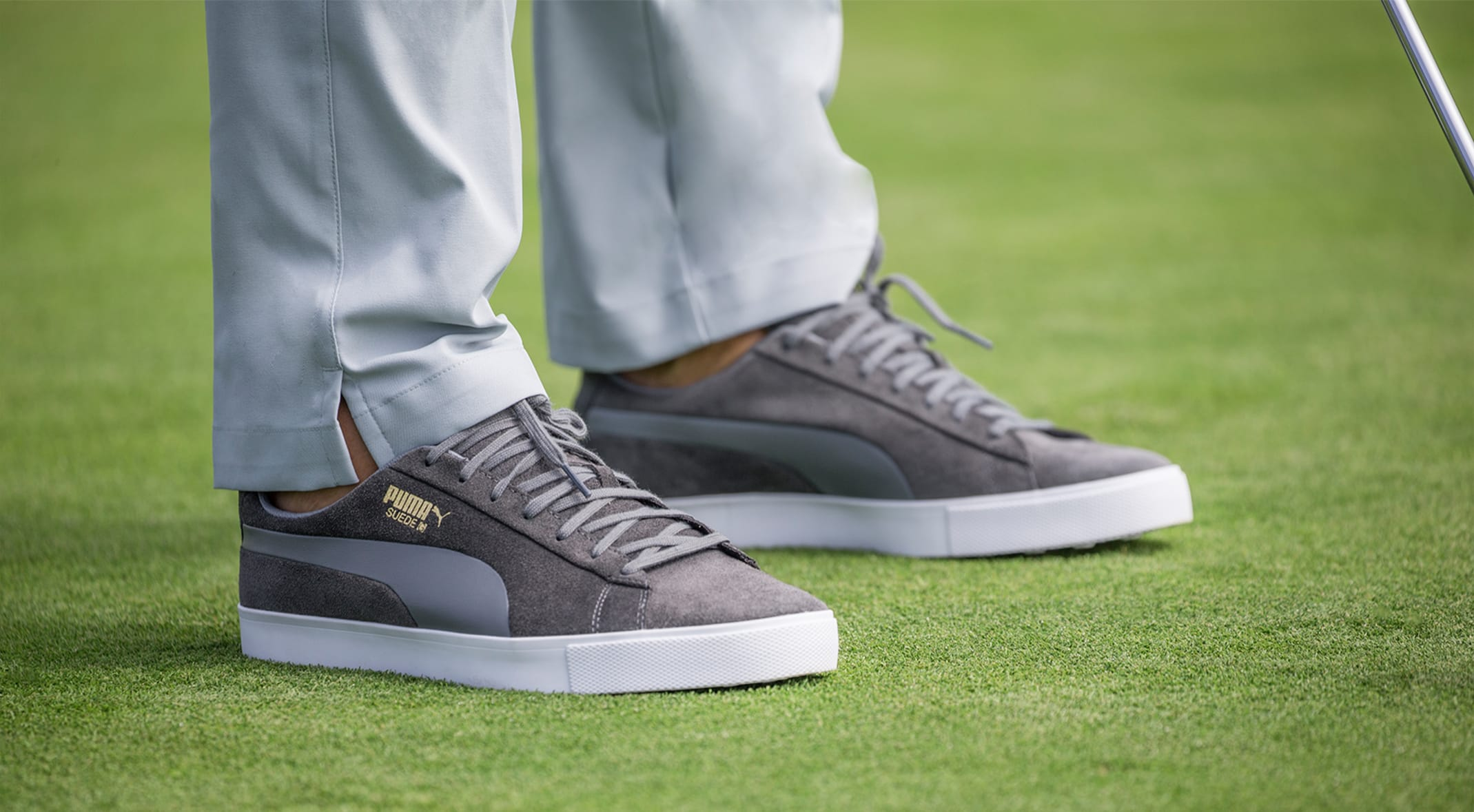 ede72d802d2b Puma introduced a spin on an old classic with the Suede G shoe.