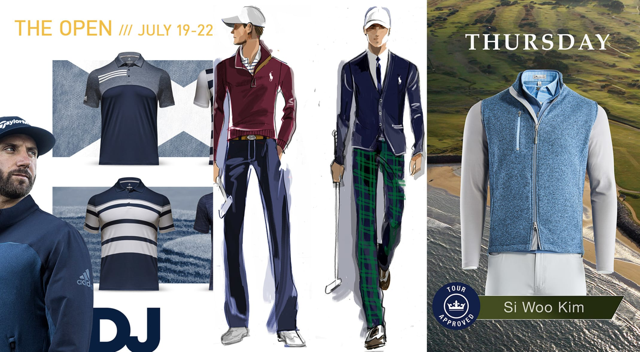 65d6206674e The Open Championship gives us a first look at the biggest fashion trends  for Fall 2018