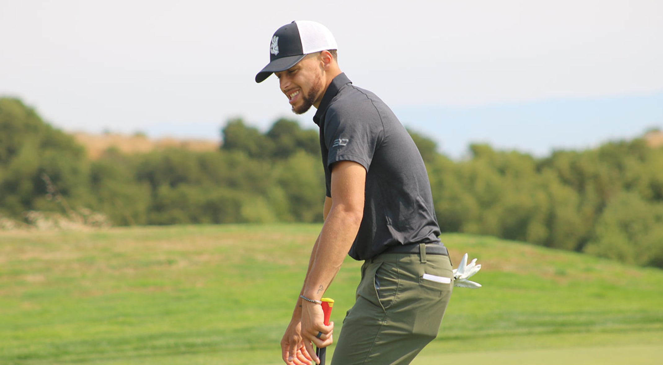 premium selection 3fdb7 7a893 Live blog: Stephen Curry at Ellie Mae Classic, Round 1