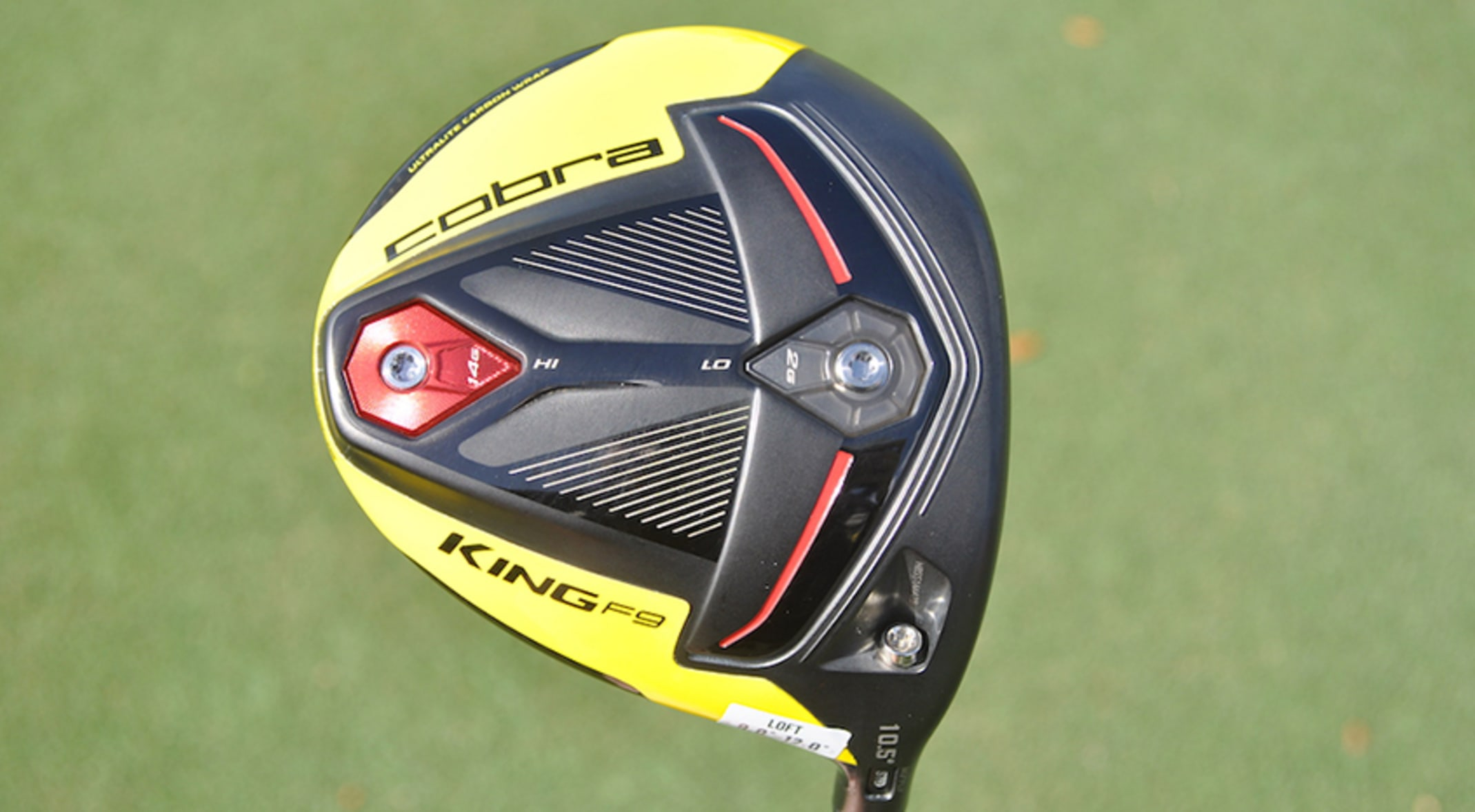 First Look: Cobra's King F9 Speedback driver, fairway woods