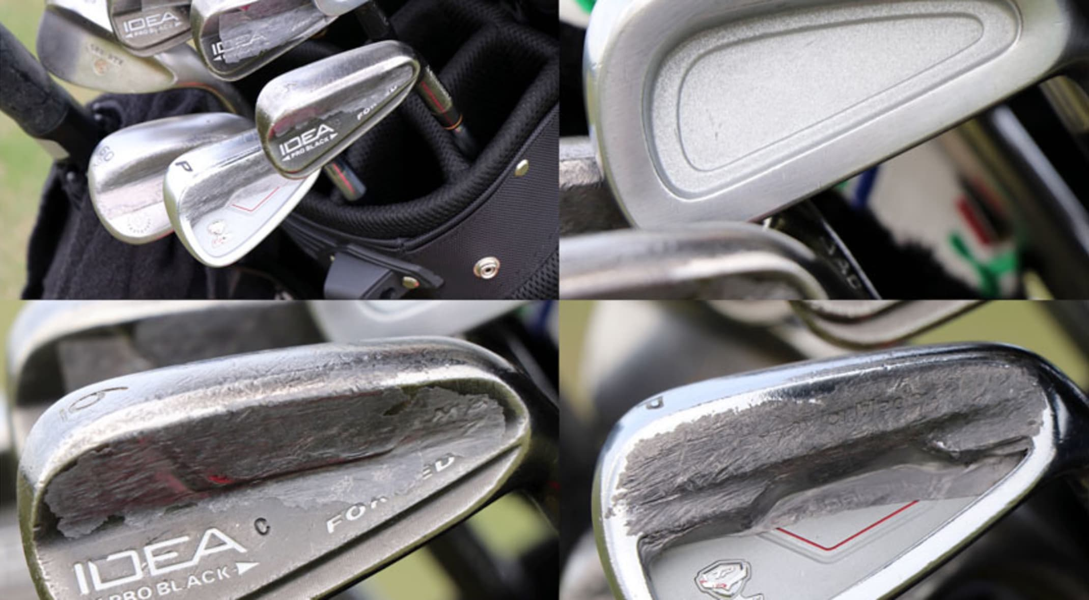 8563a48c5e4b7 A closer look at the irons Bernhard Langer will put into play at the PNC  Father