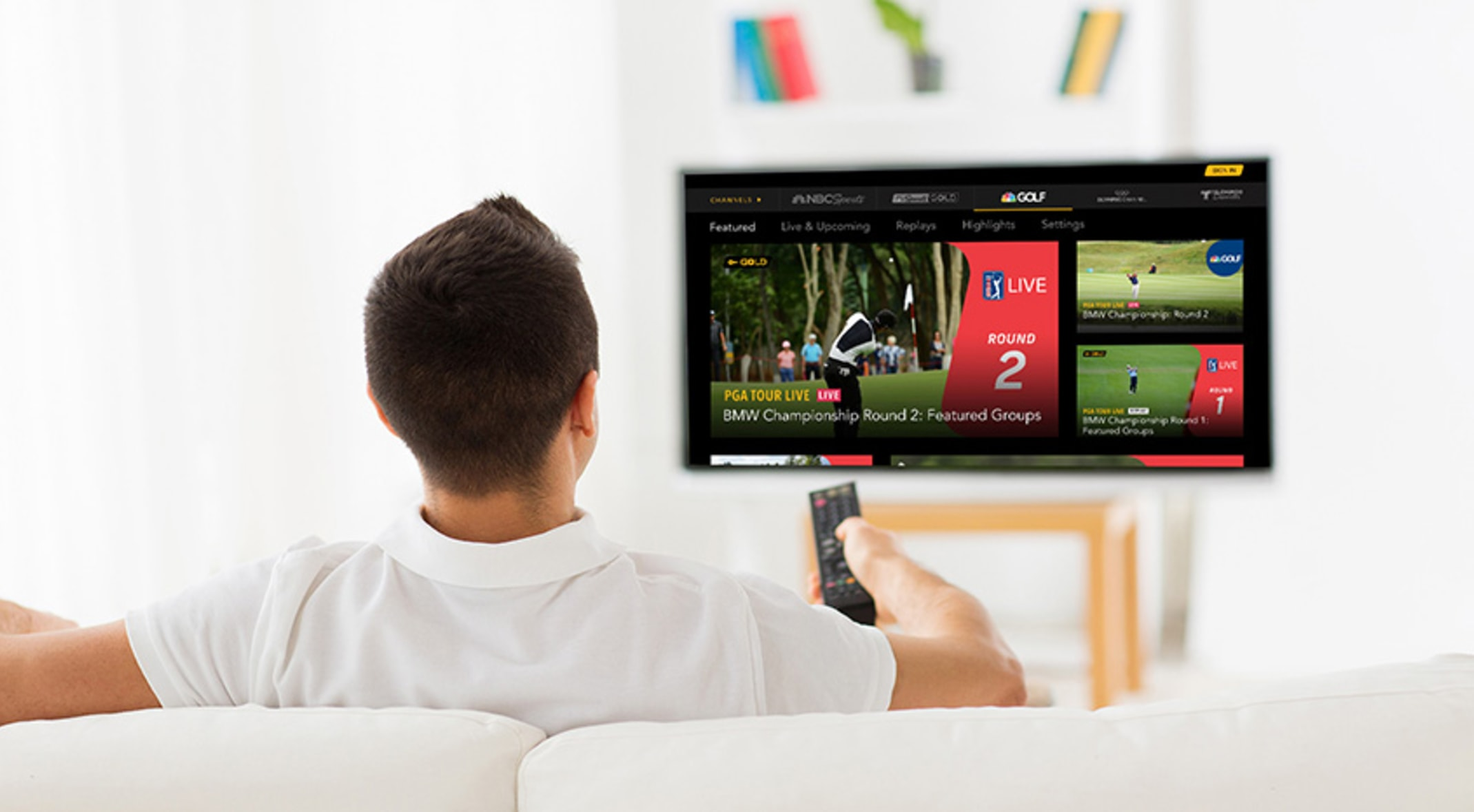 PGA TOUR LIVE launches bigger & better package on NBC Sport Gold in 2019