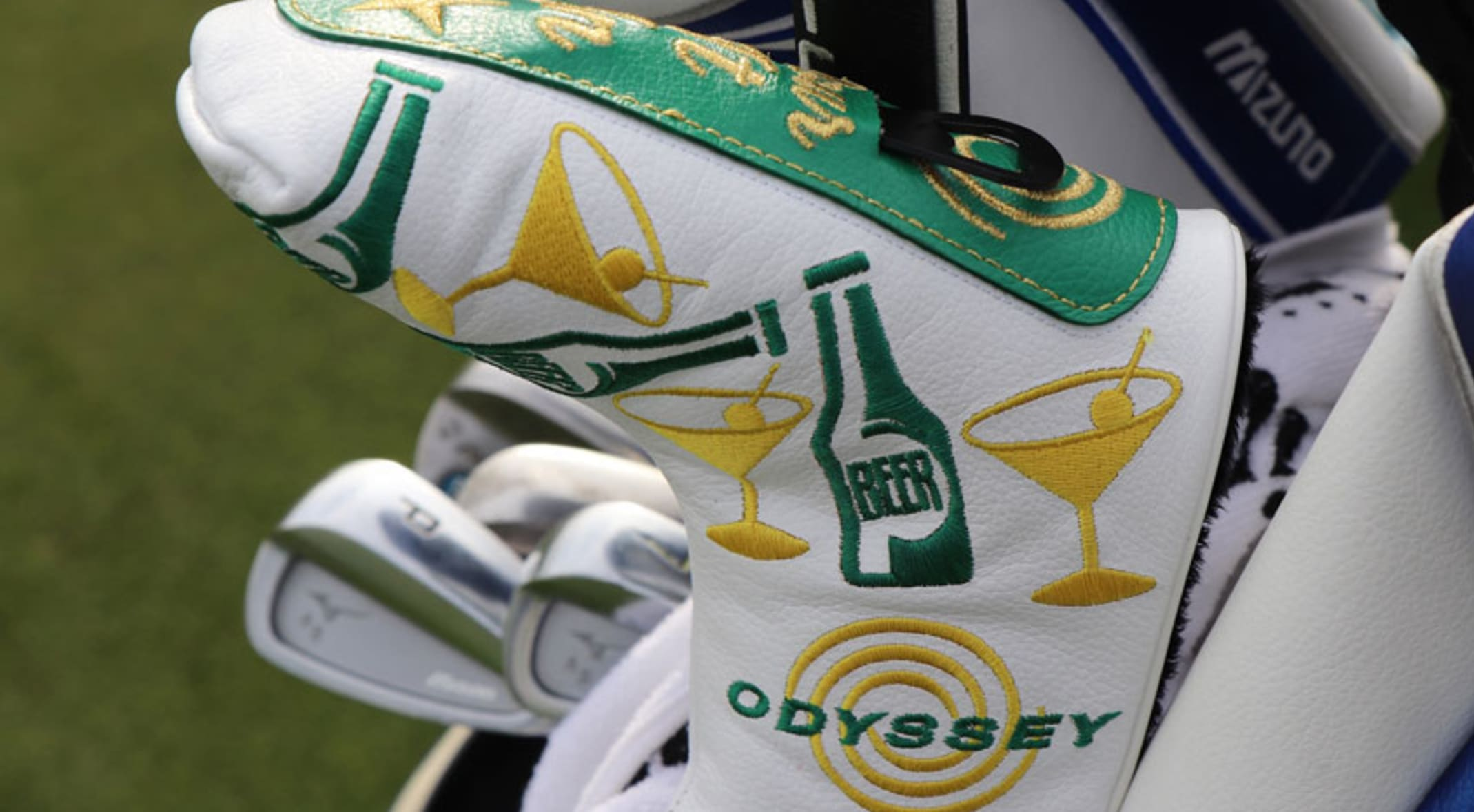 A look at the custom equipment for this week s Waste Management Phoenix  Open. (Andrew 84b58ec40