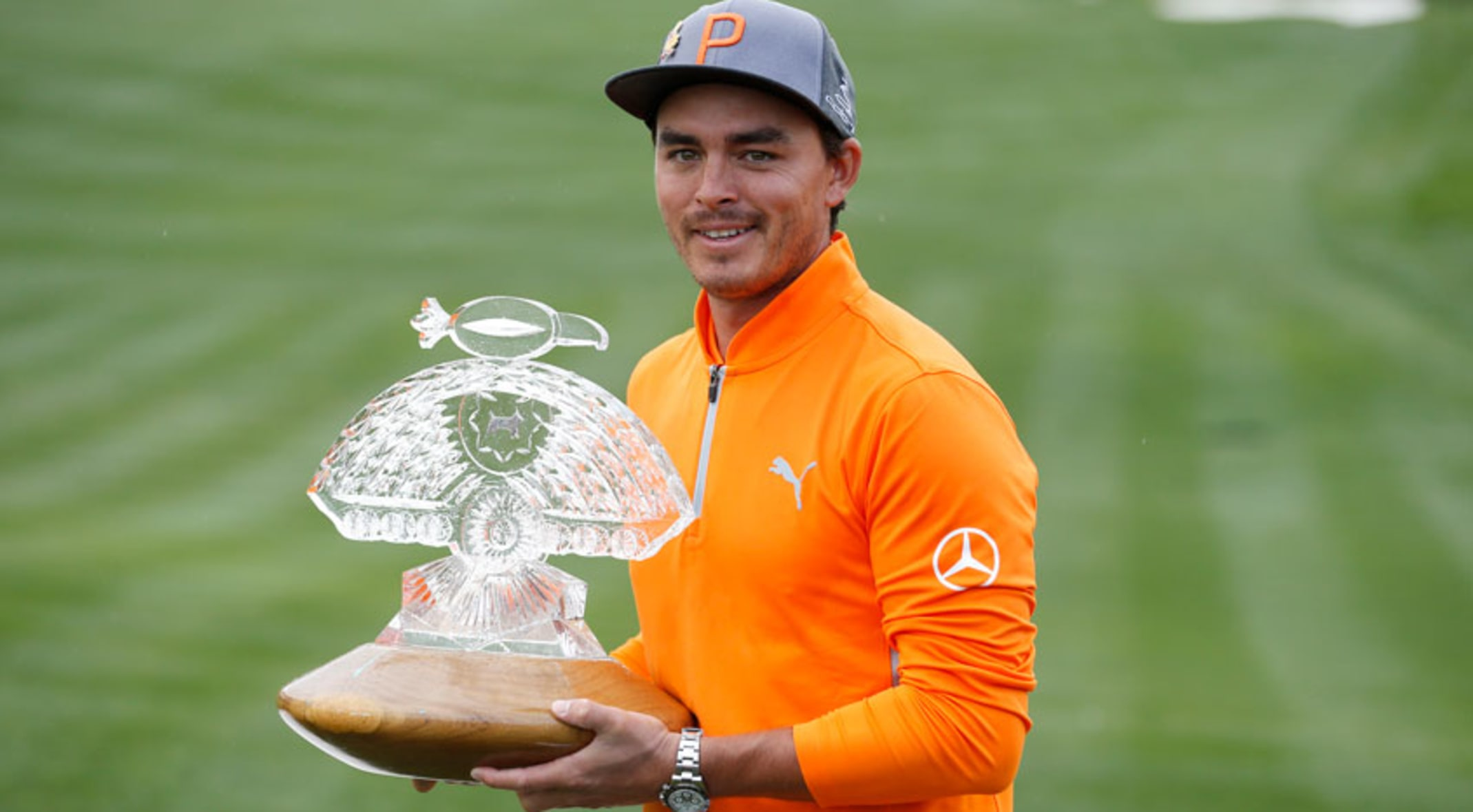 Defending champion Rickie Fowler