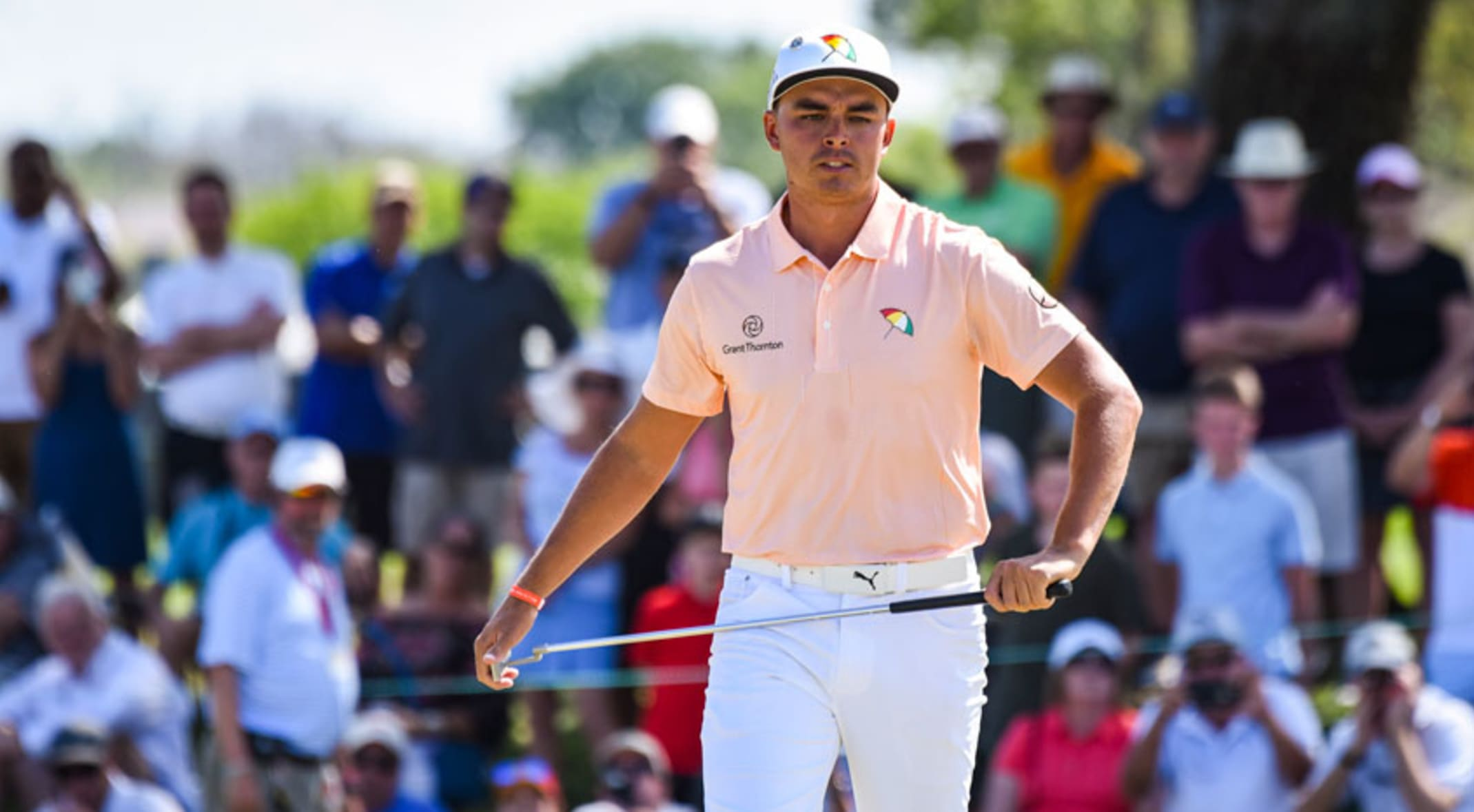 162f0359d89 Rickie Fowler has paid tribute to Arnold Palmer at Bay Hill for the past  two years