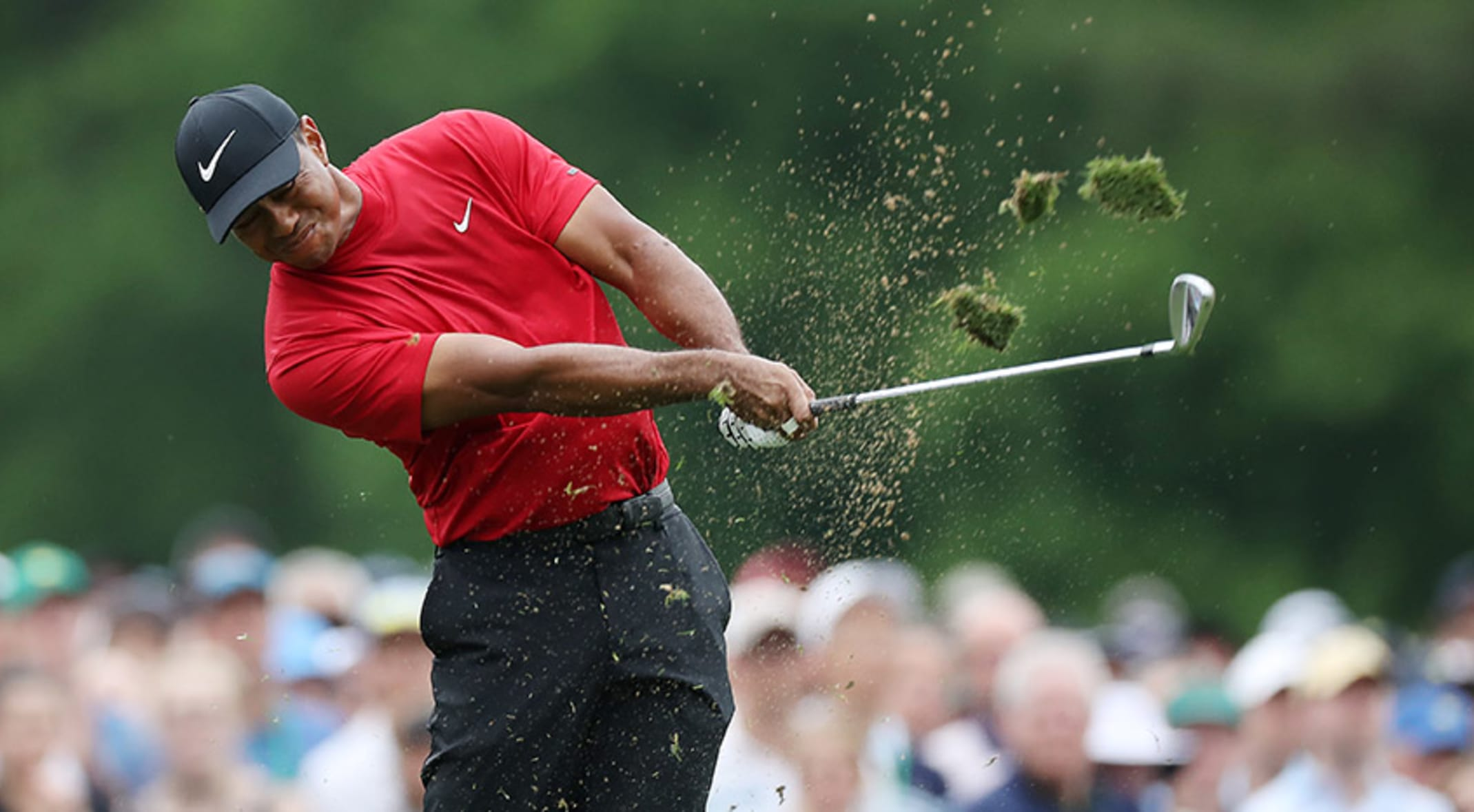 A closer look at clutch shots from Tiger Woods' memorable Masters win