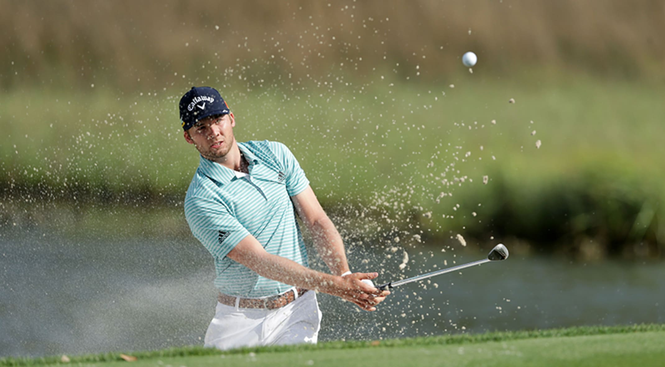 Sam Burns, recently engaged, in the mix at RBC Heritage