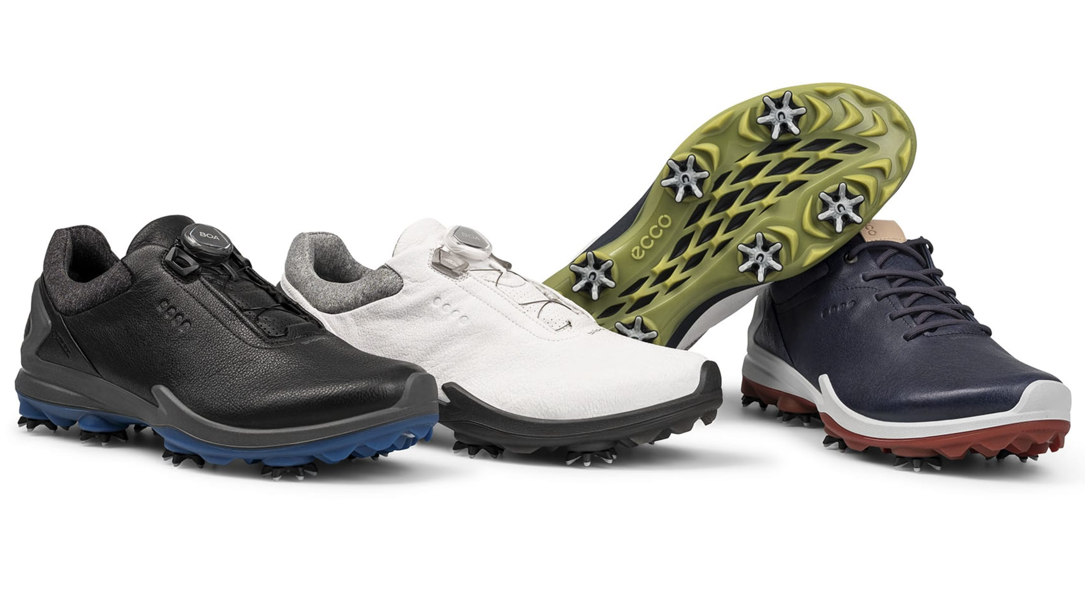 415fc997d1cc0 ECCO's new BIOM G3 shoes are available in four colorways with either  traditional laces or the