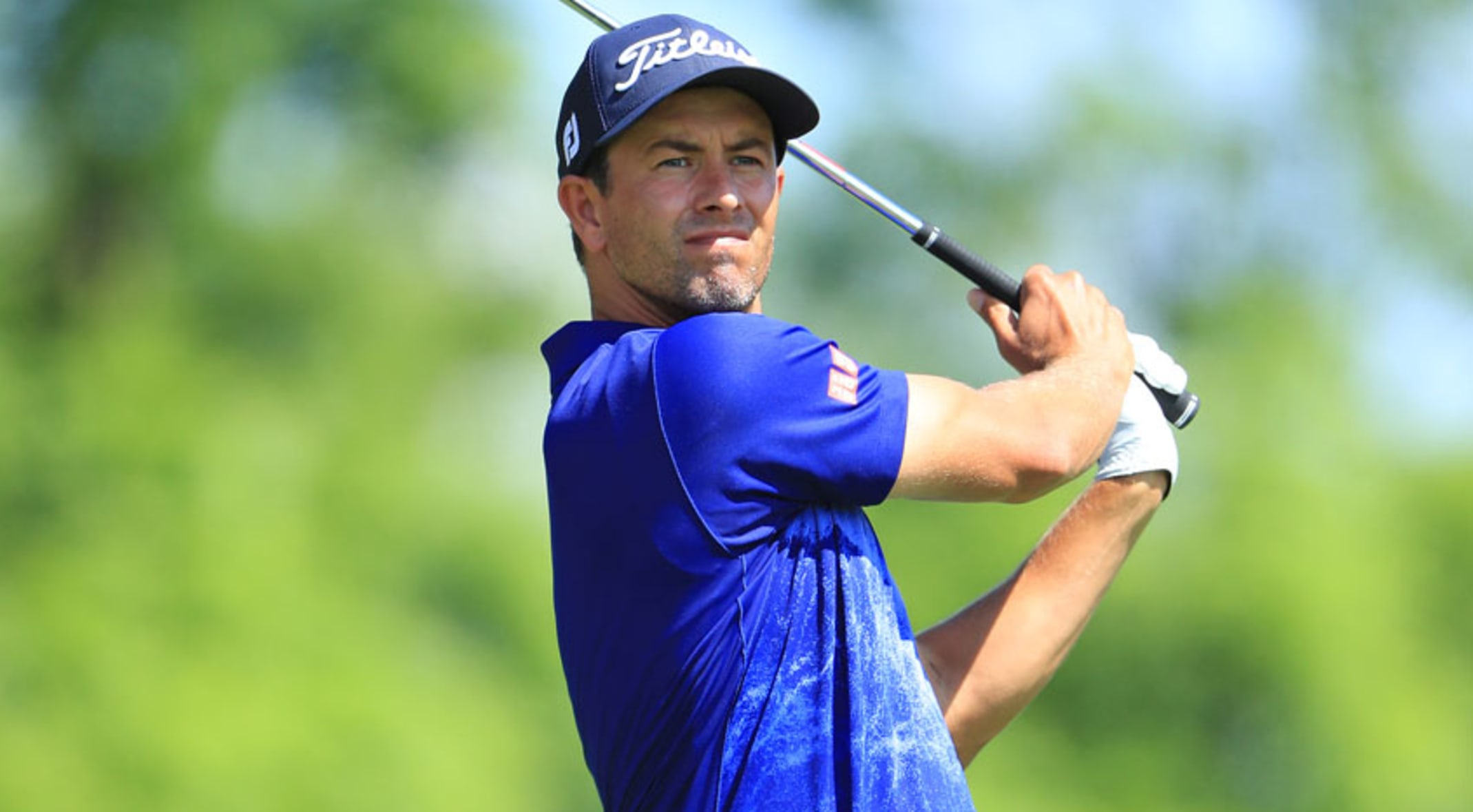 Adam Scott Comes A Long Way In A Year At The Memorial Tournament