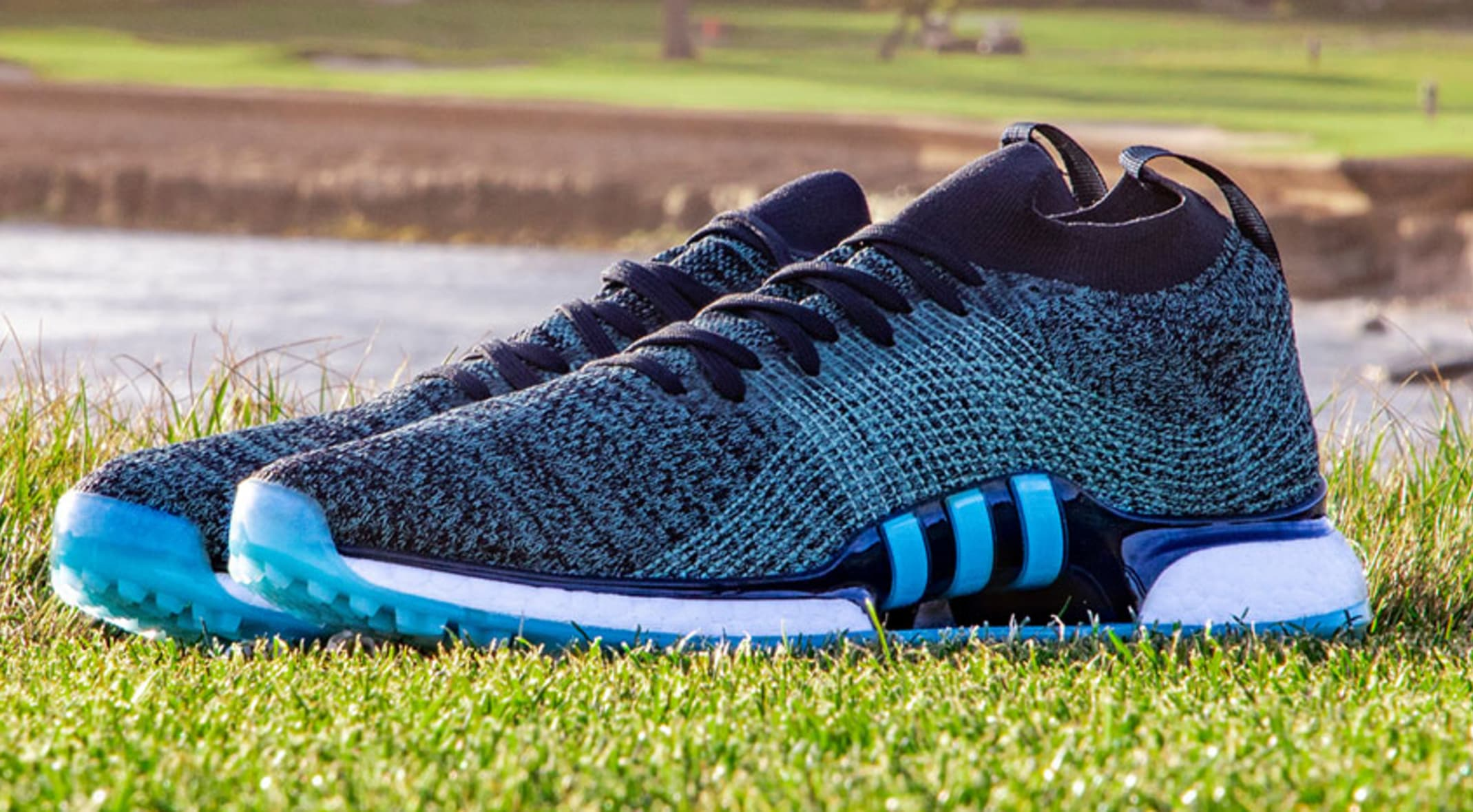 c6879a9b While this shoe is a first for golf, adidas and Parley have partnered on  several