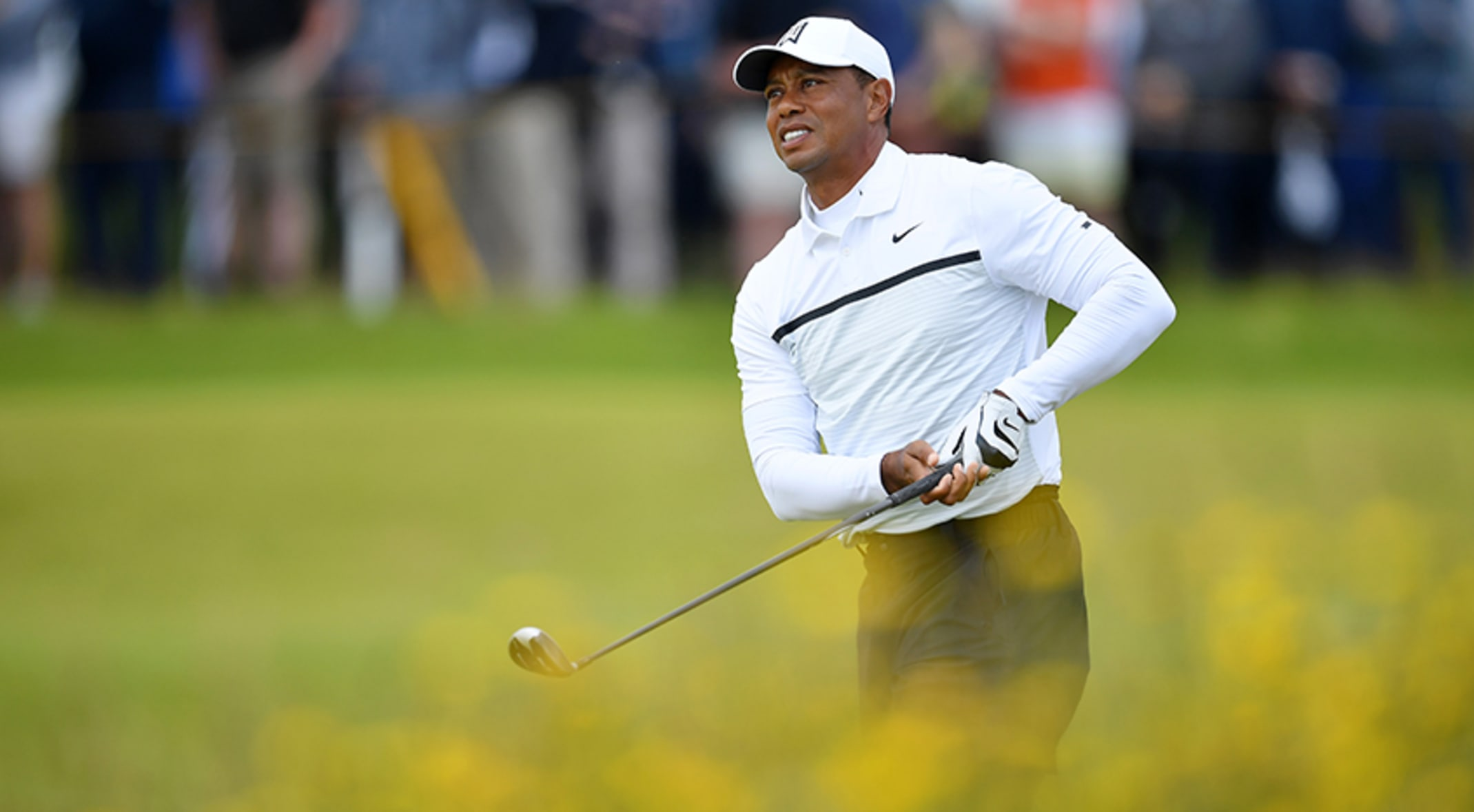 Tiger Woods Cards 70 In Round 2 Of The Open