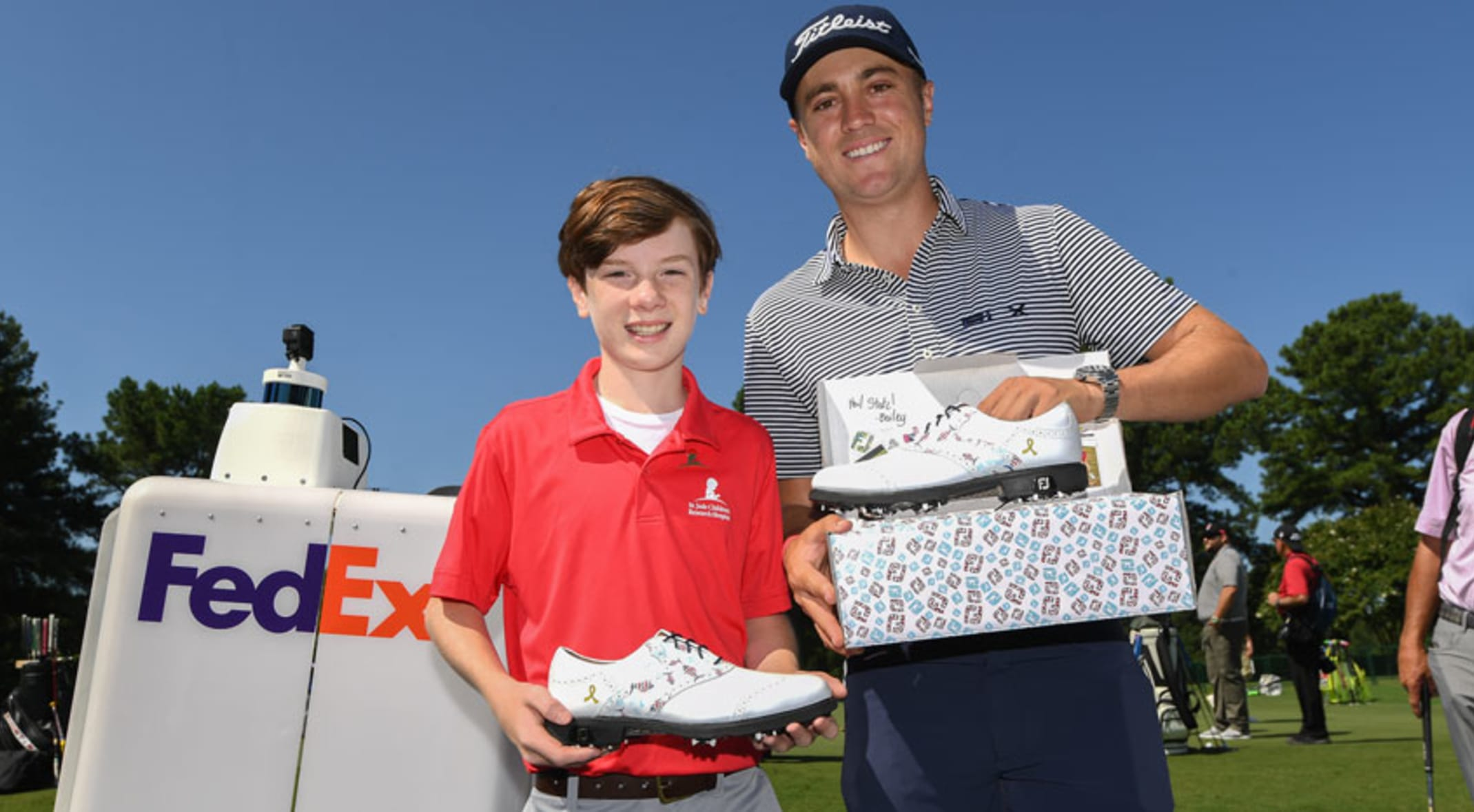 Justin Thomas To Wear Custom Shoes Designed By Young Cancer Survivor