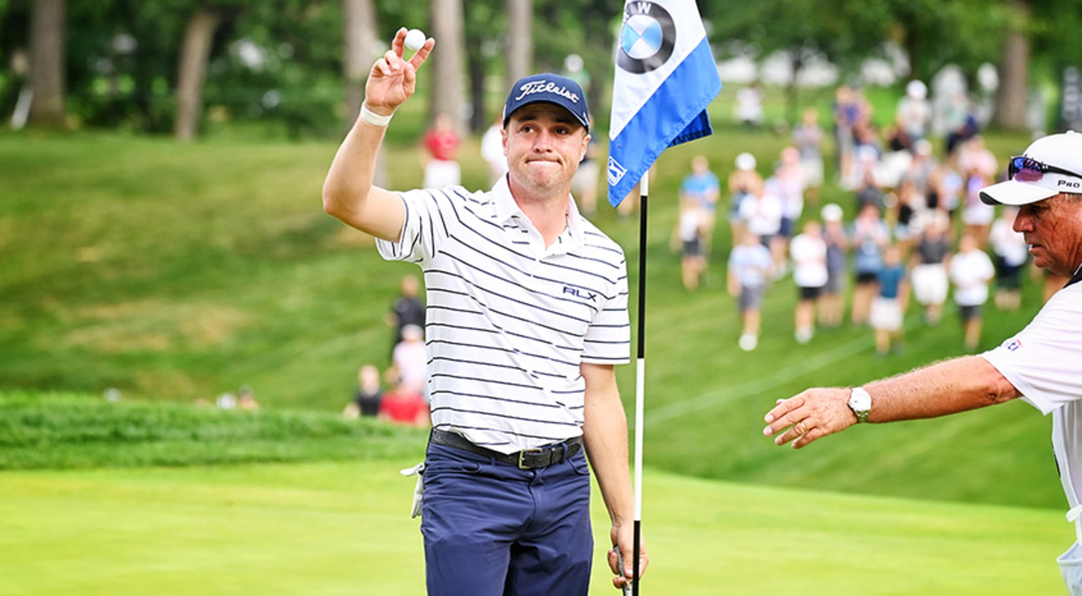 Thomas In Vintage Form At Bmw Championship